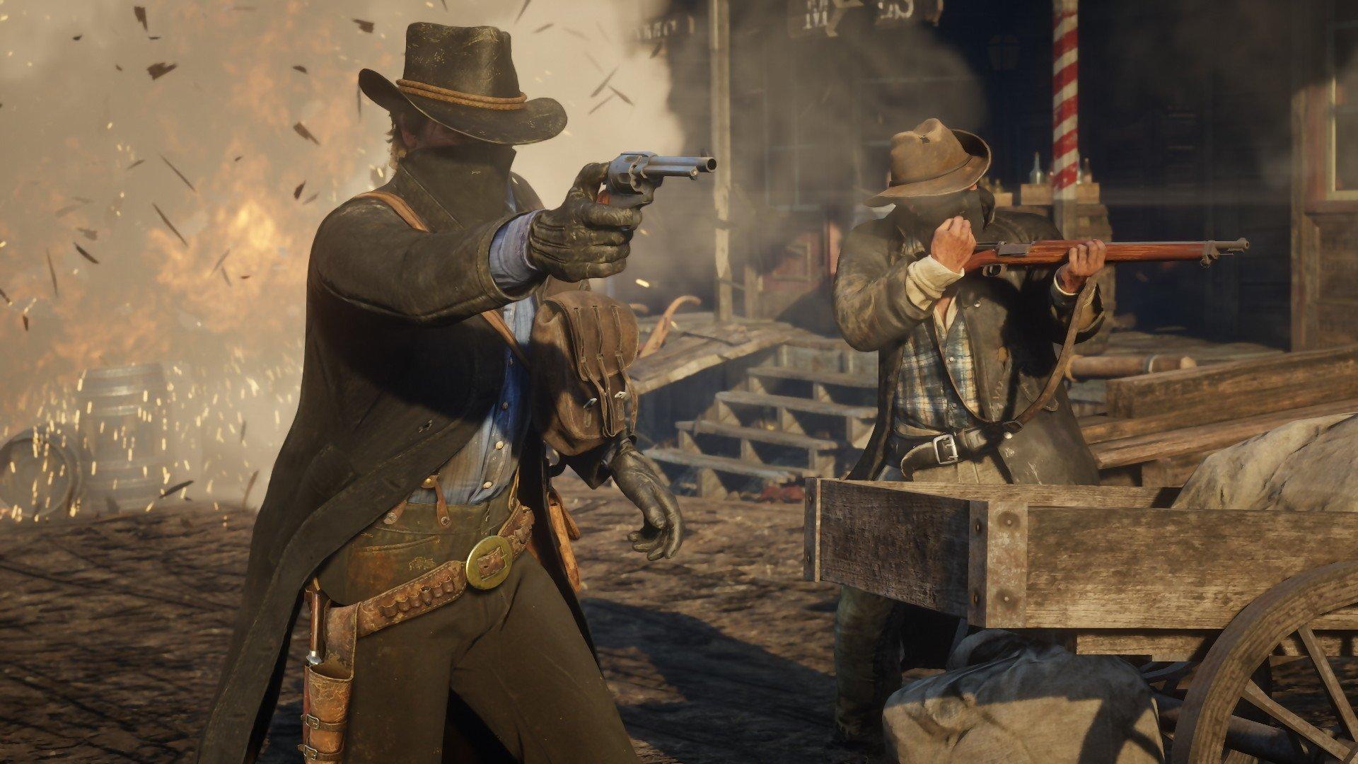 Nouveau mode Gun Rush ajouté à Red Dead Online