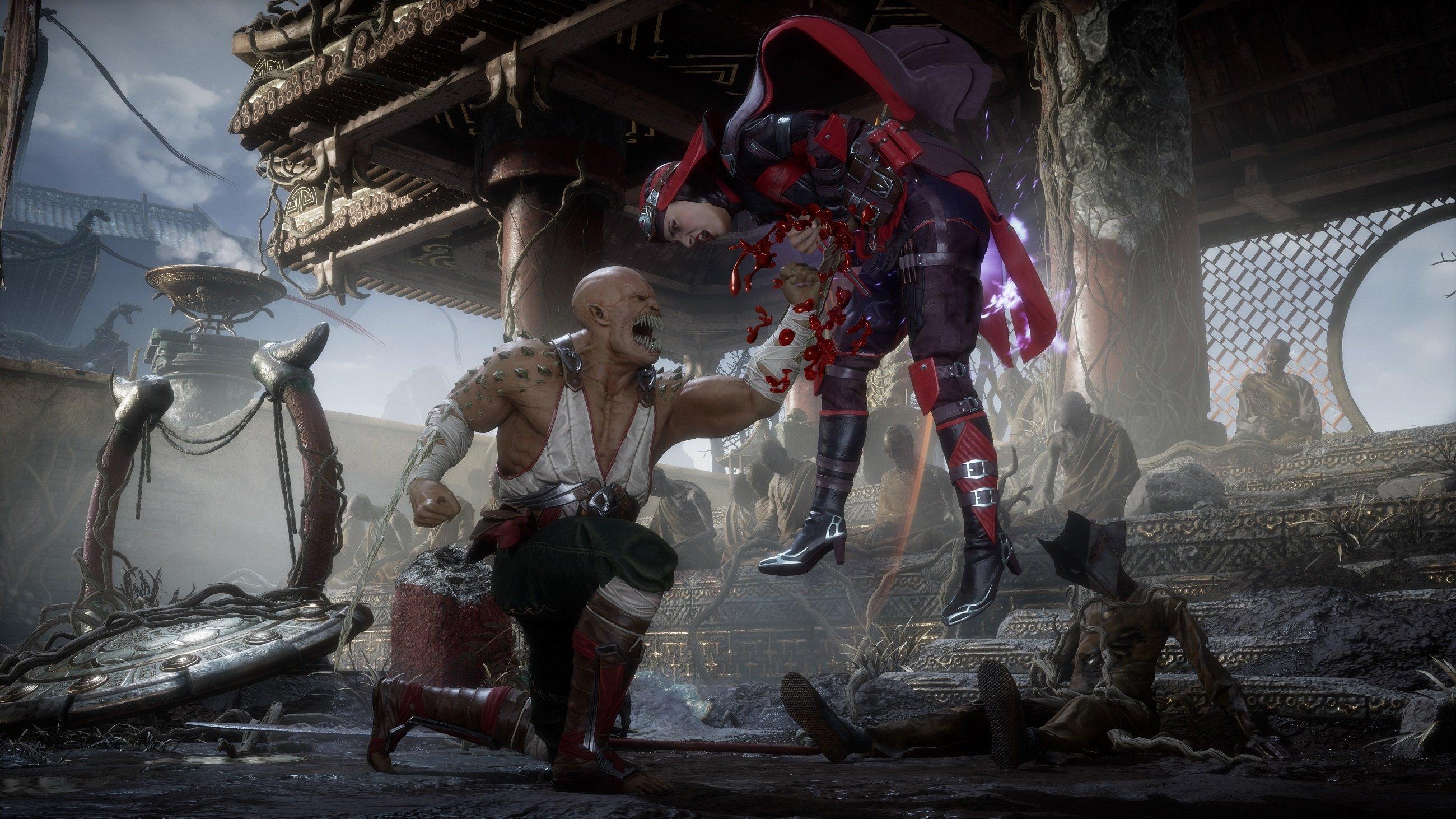 Skarlet et Baraka reviennent à Mortal Kombat 11