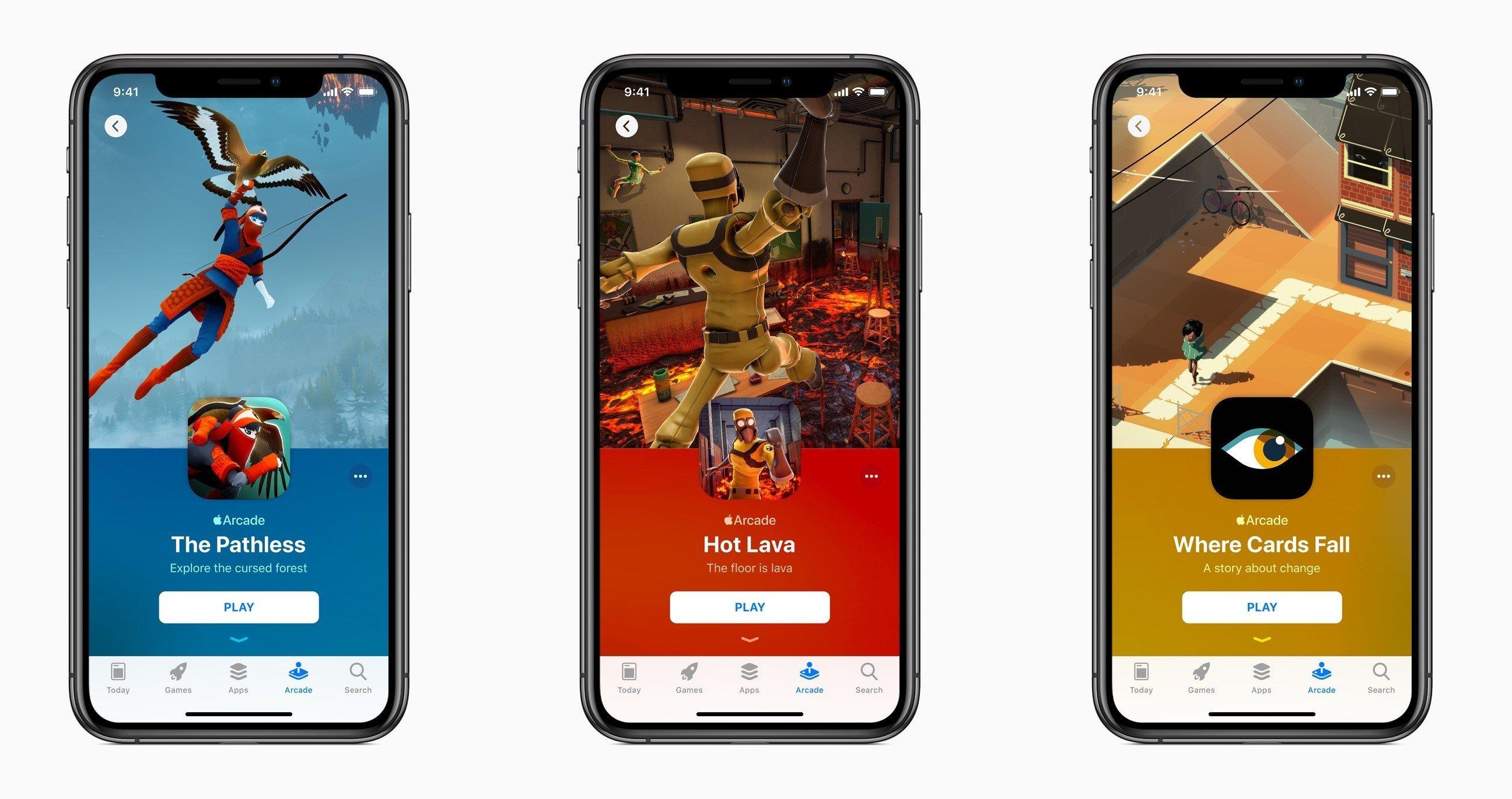 Apple lance un nouveau service d'abonnement aux jeux vidéo