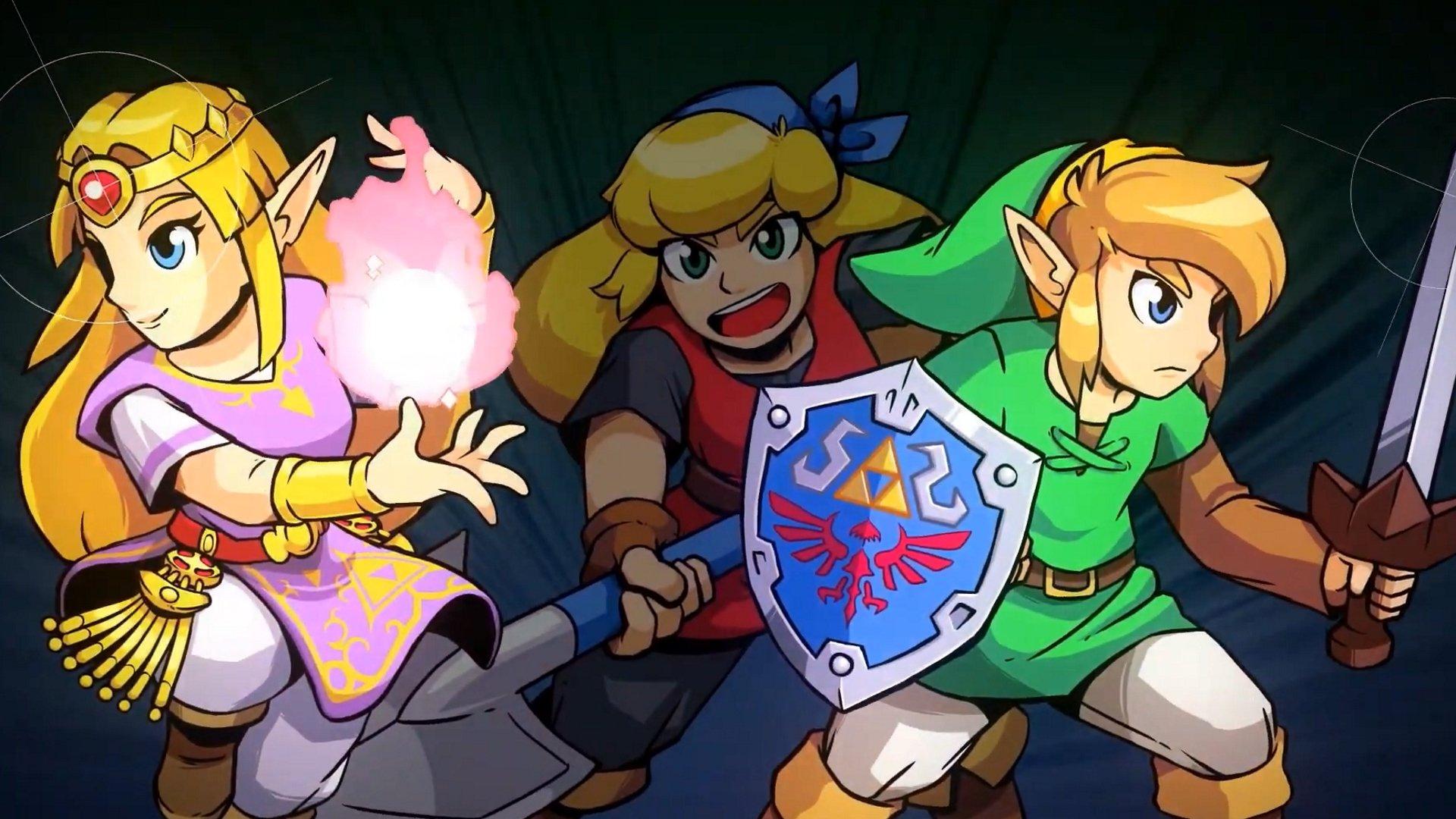 Cadence de Hyrule écrase Zelda avec Crypte du NecroDancer