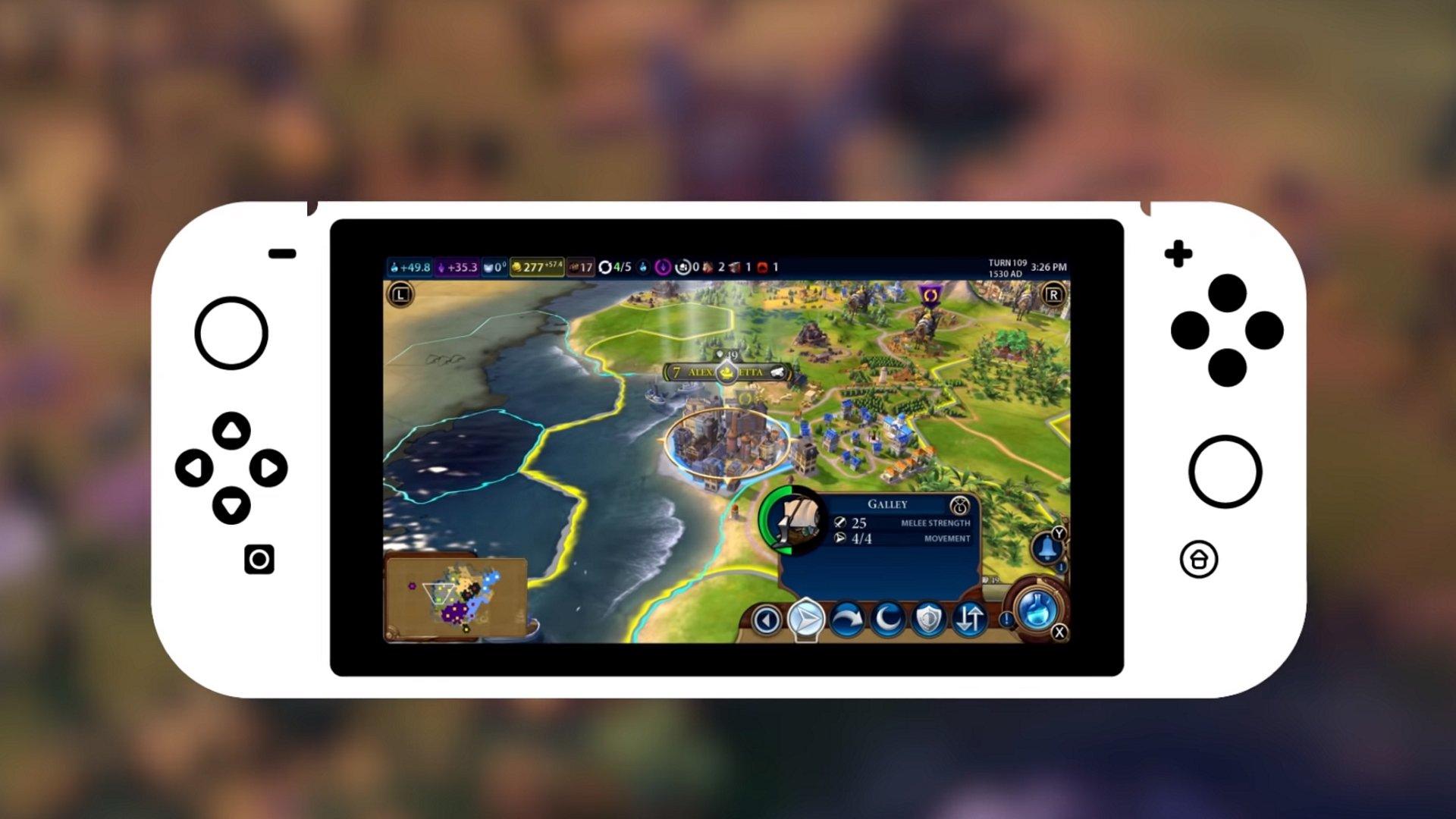 Civilization 6 obtient des sauvegardes Switch et PC multiplateformes