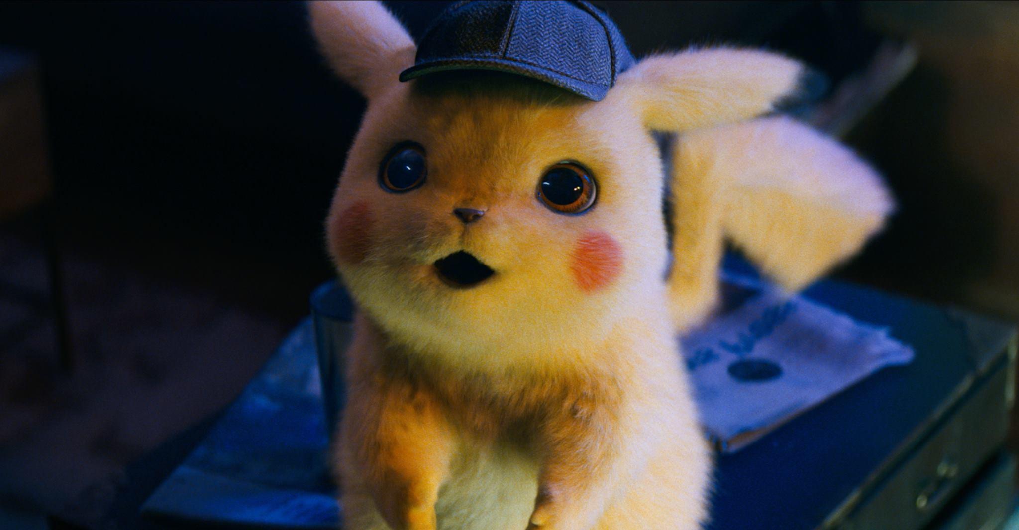 Le nouveau trailer du détective Pikachu présente un design impressionnant de personnages.