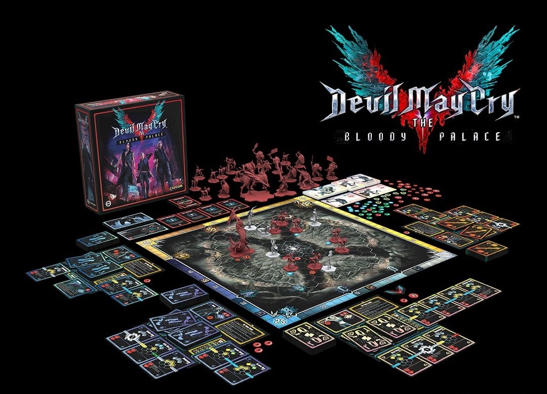Jeu de plateau Devil May Cry en développement par Stormforged Games