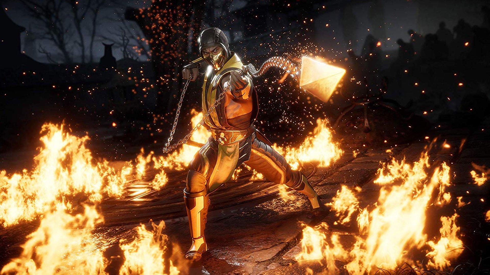 Ouvrez les coffres de Krypt Flaming Chests dans Mortal Kombat 11