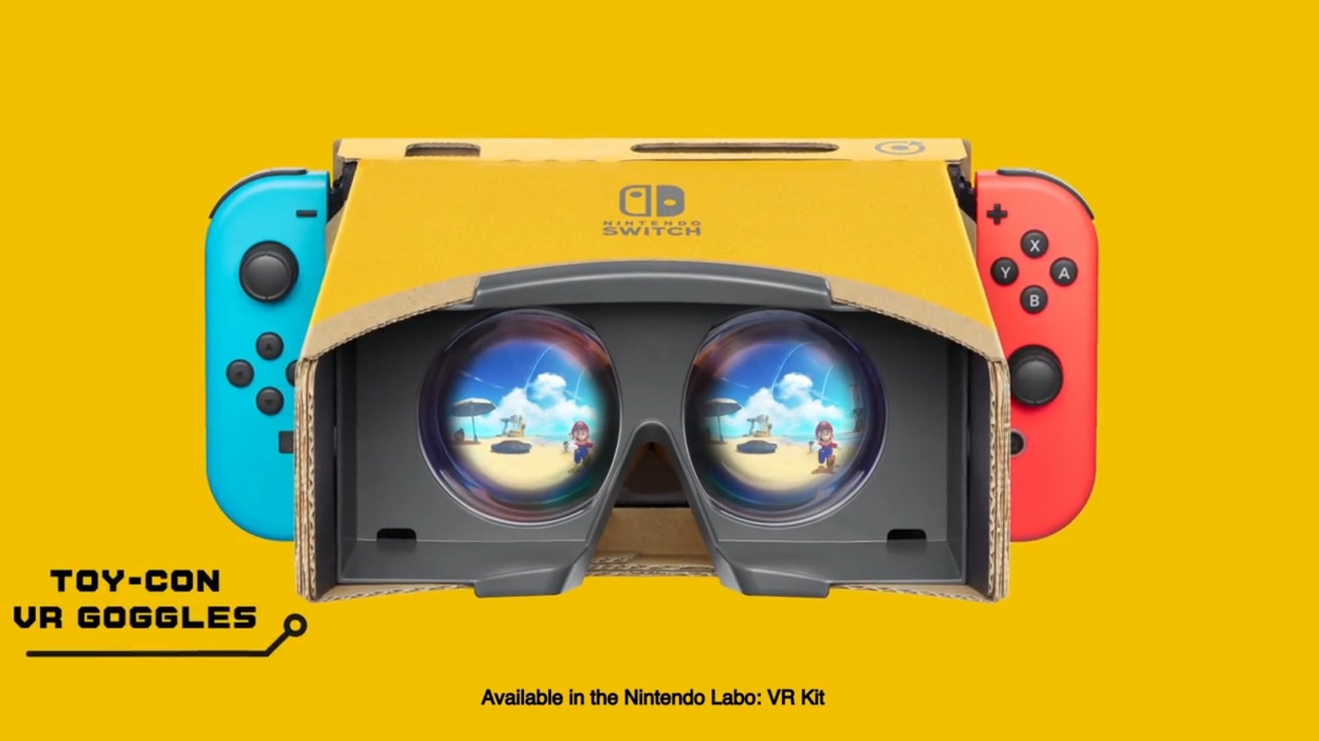 Le soutien de VR à Zelda : Breath of the Wild et Mario Odyssey