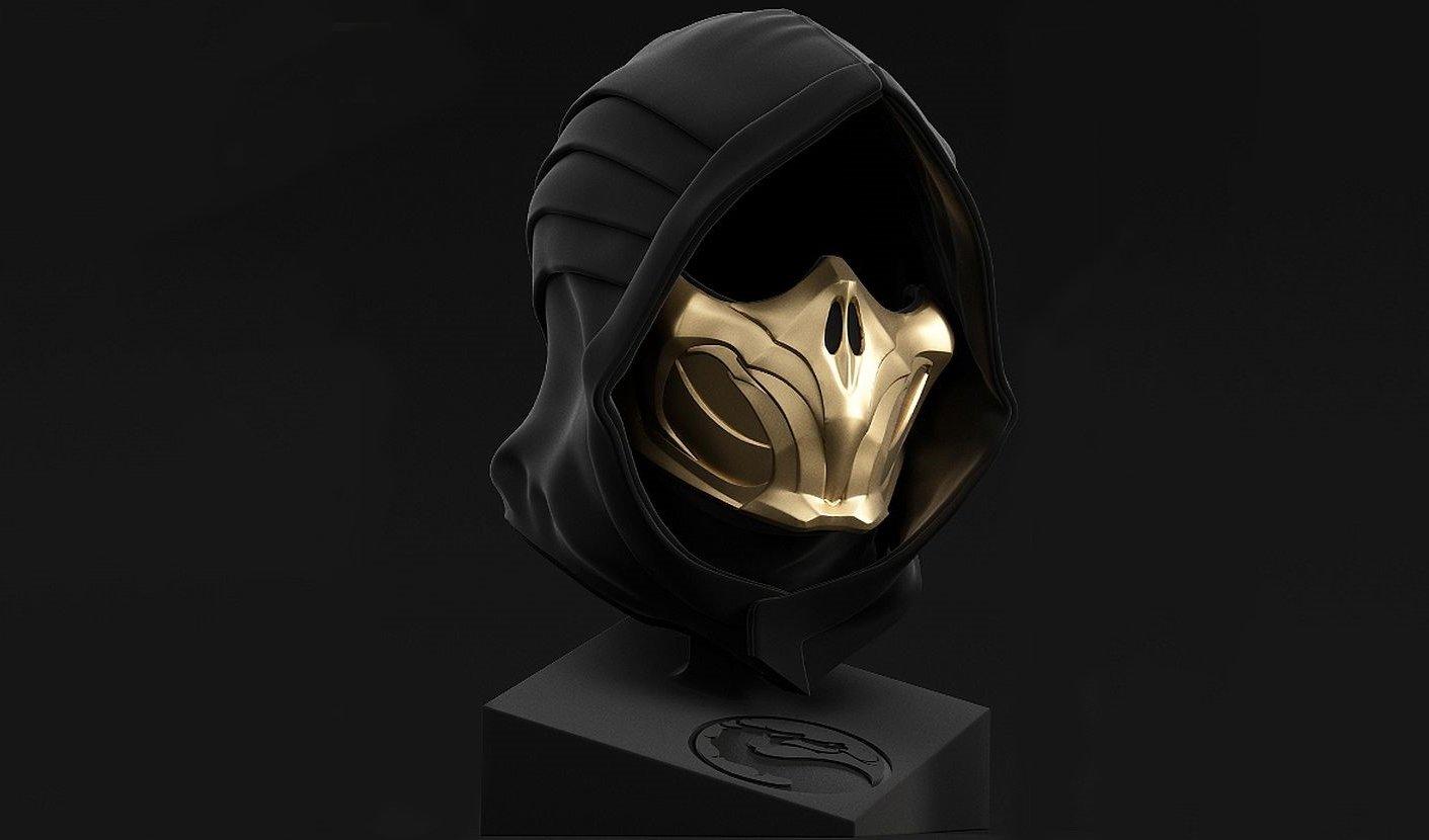 Masque Scorpion Mortal Kombat 11 Scorpion pour plus de 700$ sur eBay