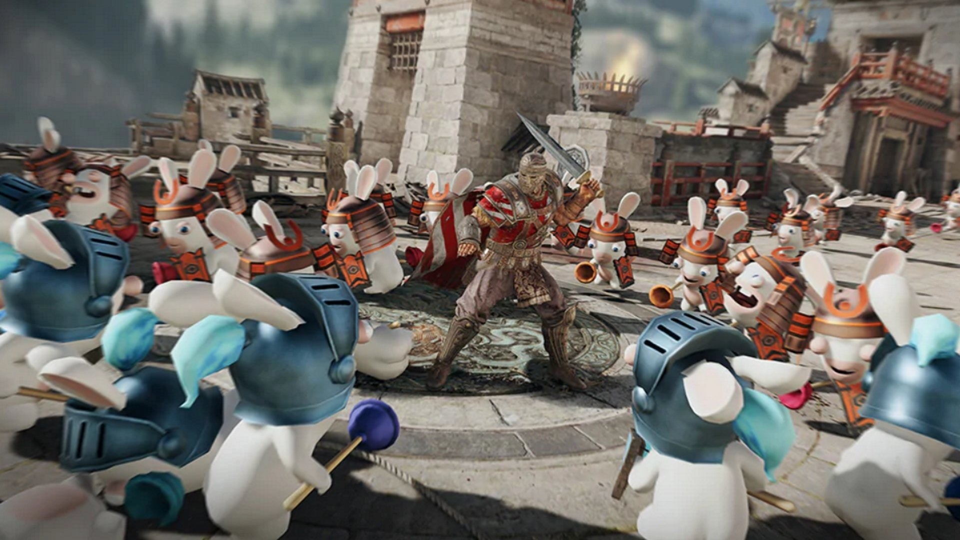 Les Lapins Lapins Crétins descendent sur For Honor en Avril Fools épreuve limitée dans le temps