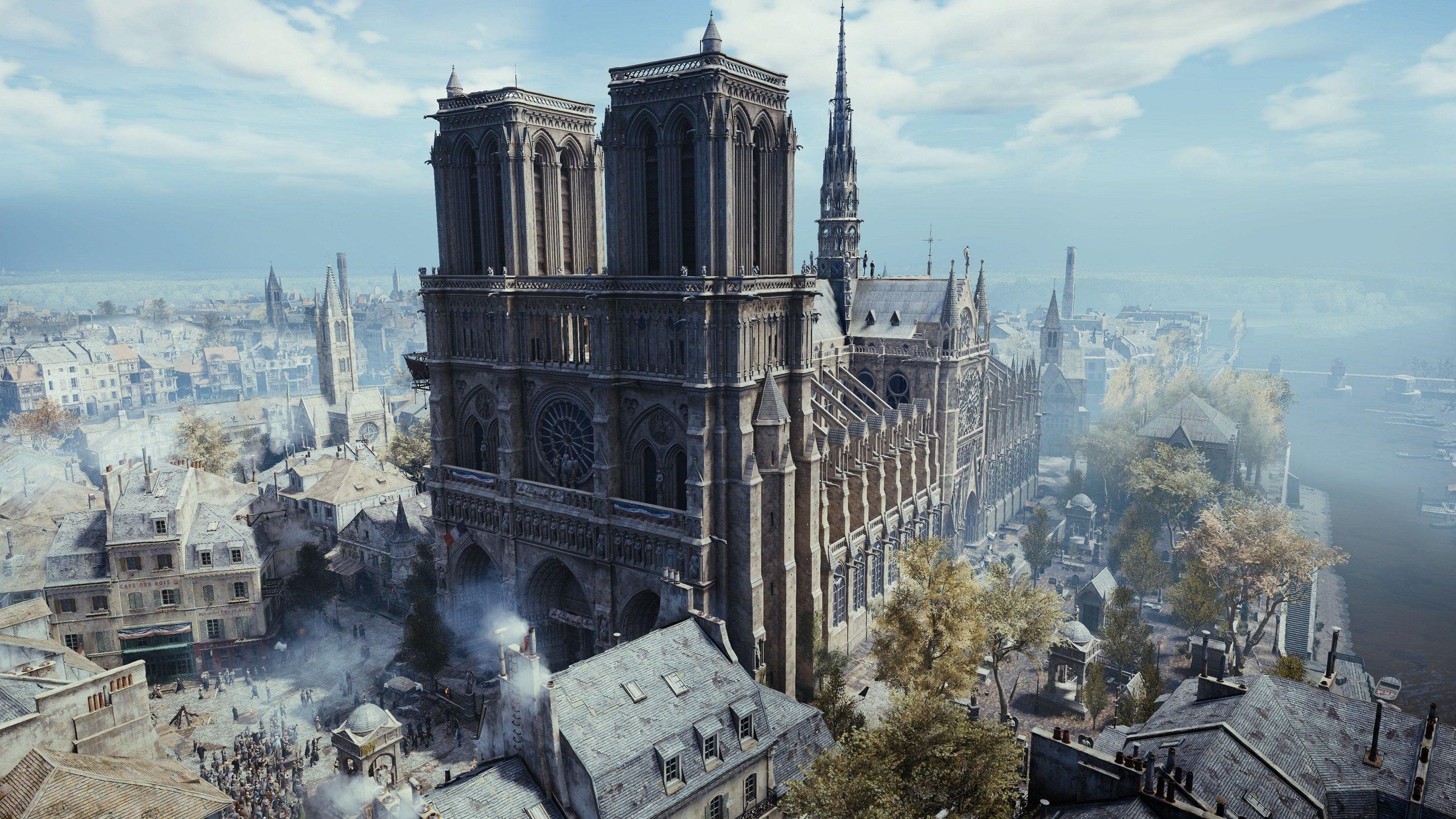 Ubisoft fait un don à Notre Dame, distribue gratuitement des exemplaires de Unity