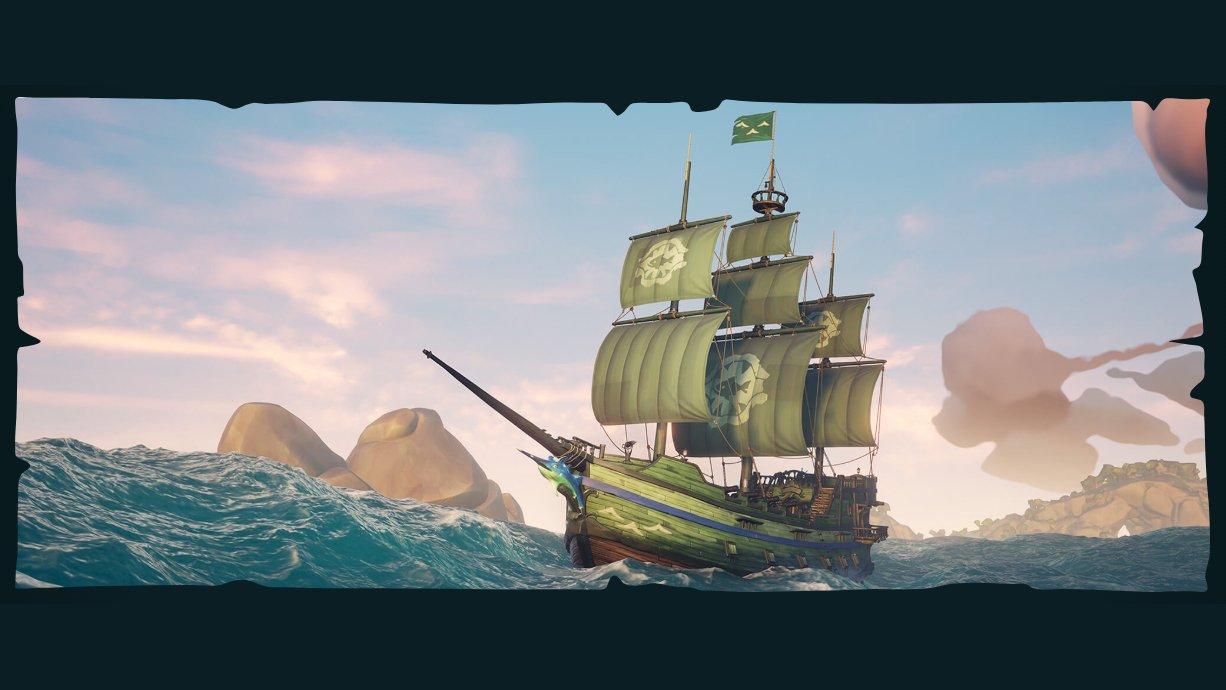 Comment mettre le bateau de l'épaulard dans la mer des voleurs ?