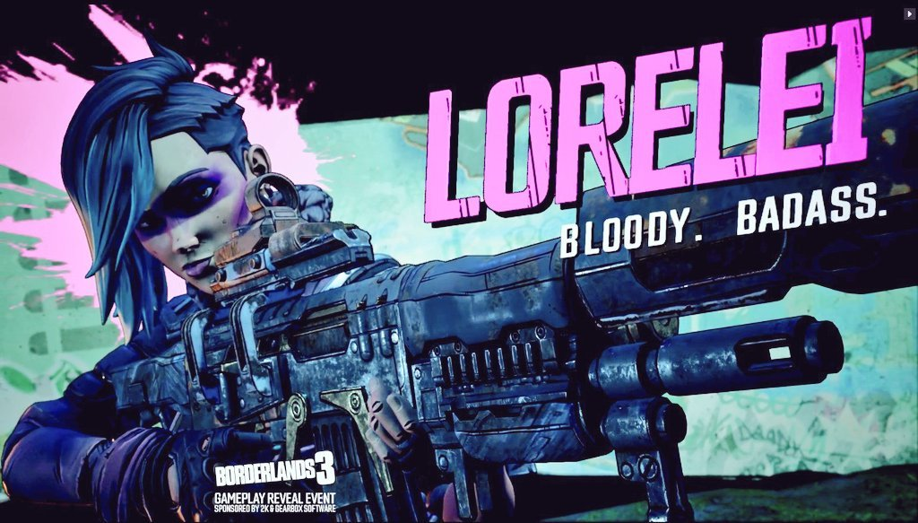 Qui est Lorelei dans Borderlands 3 ?
