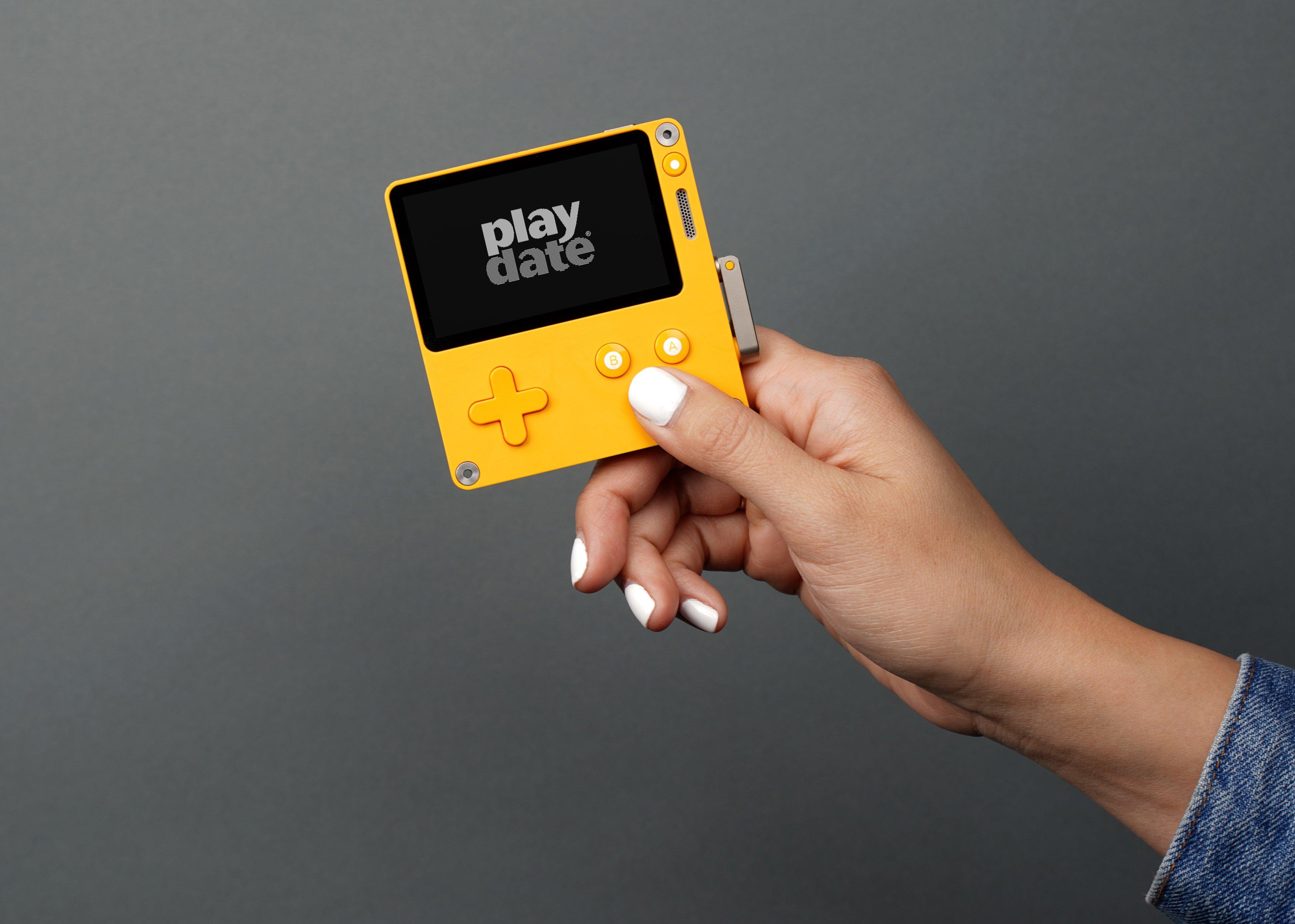 Playdate est une console de jeux indépendante avec manivelle.