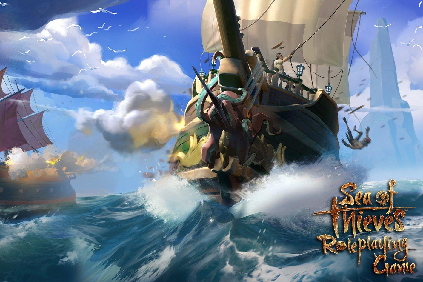 RPG de table Sea of Thieves disponible en pré-commande
