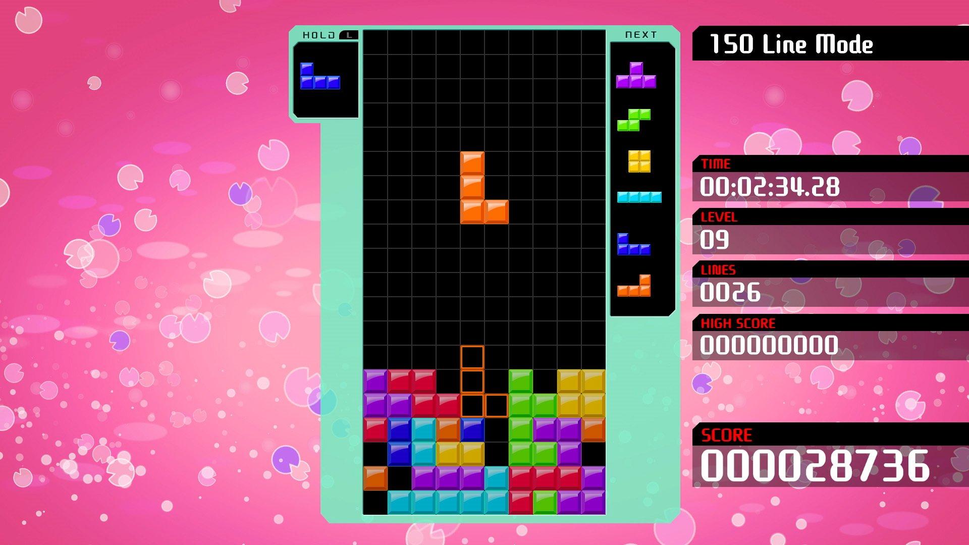 Big Block DLC annoncé pour Tetris 99