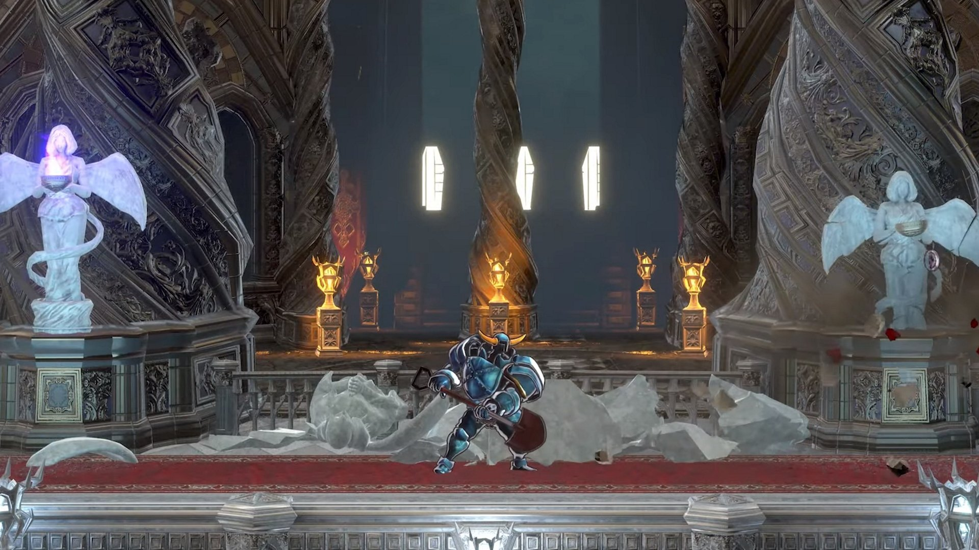 Shovel Knight à Bloodstained : Rituel de la nuit