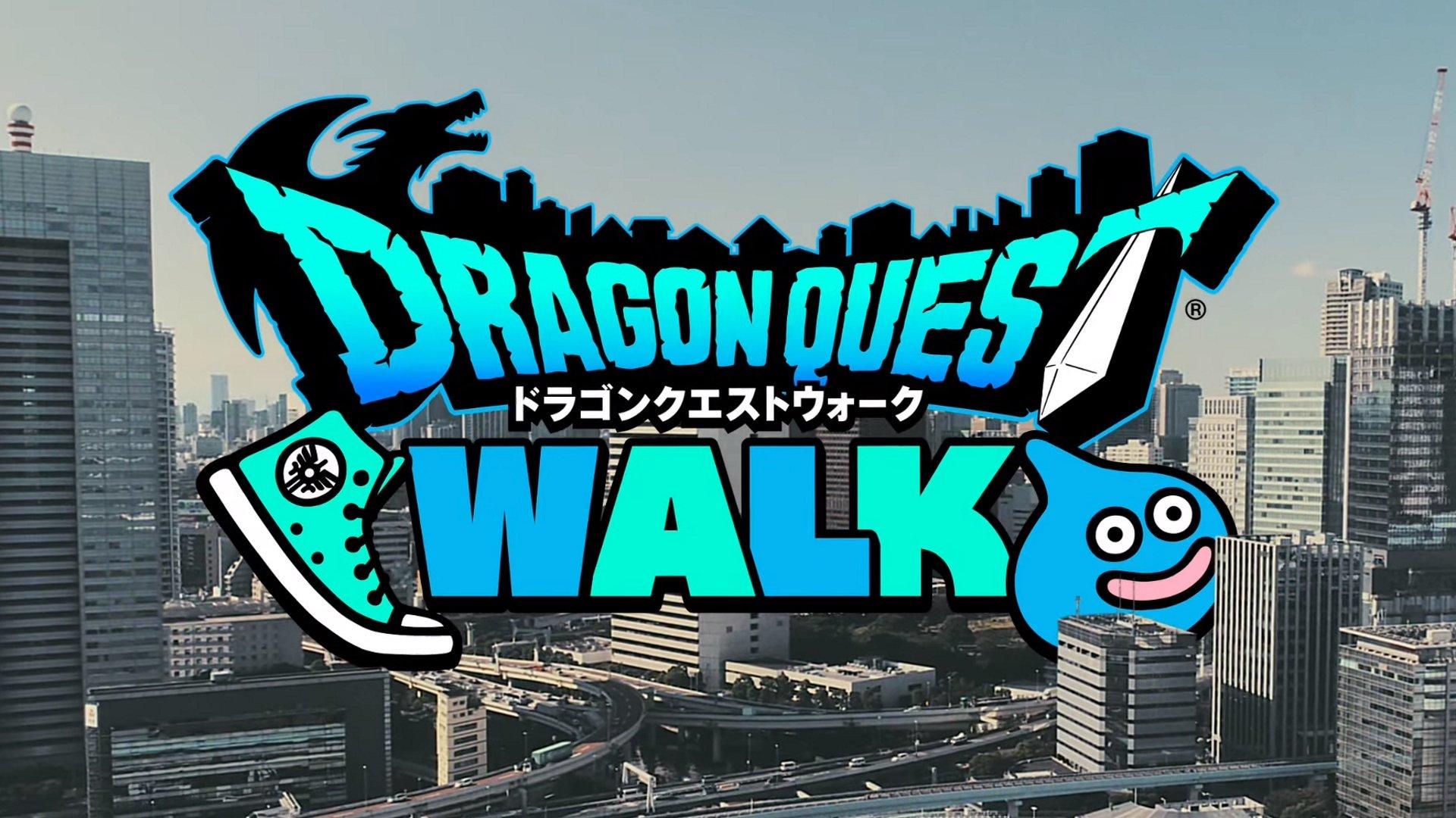 Dragon Quest Walk est un jeu AR de style Pokemon Go-style qui arrive au Japon.