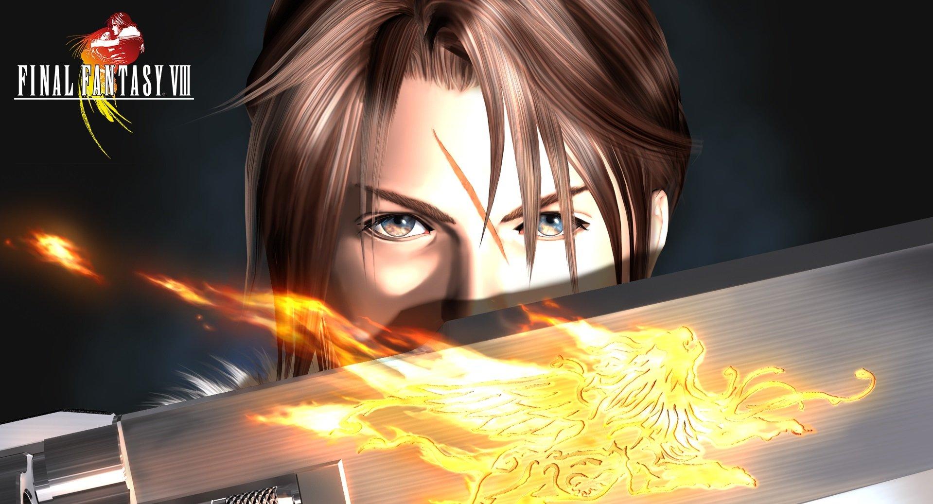 Remaster pour Final Fantasy 8 confirmé