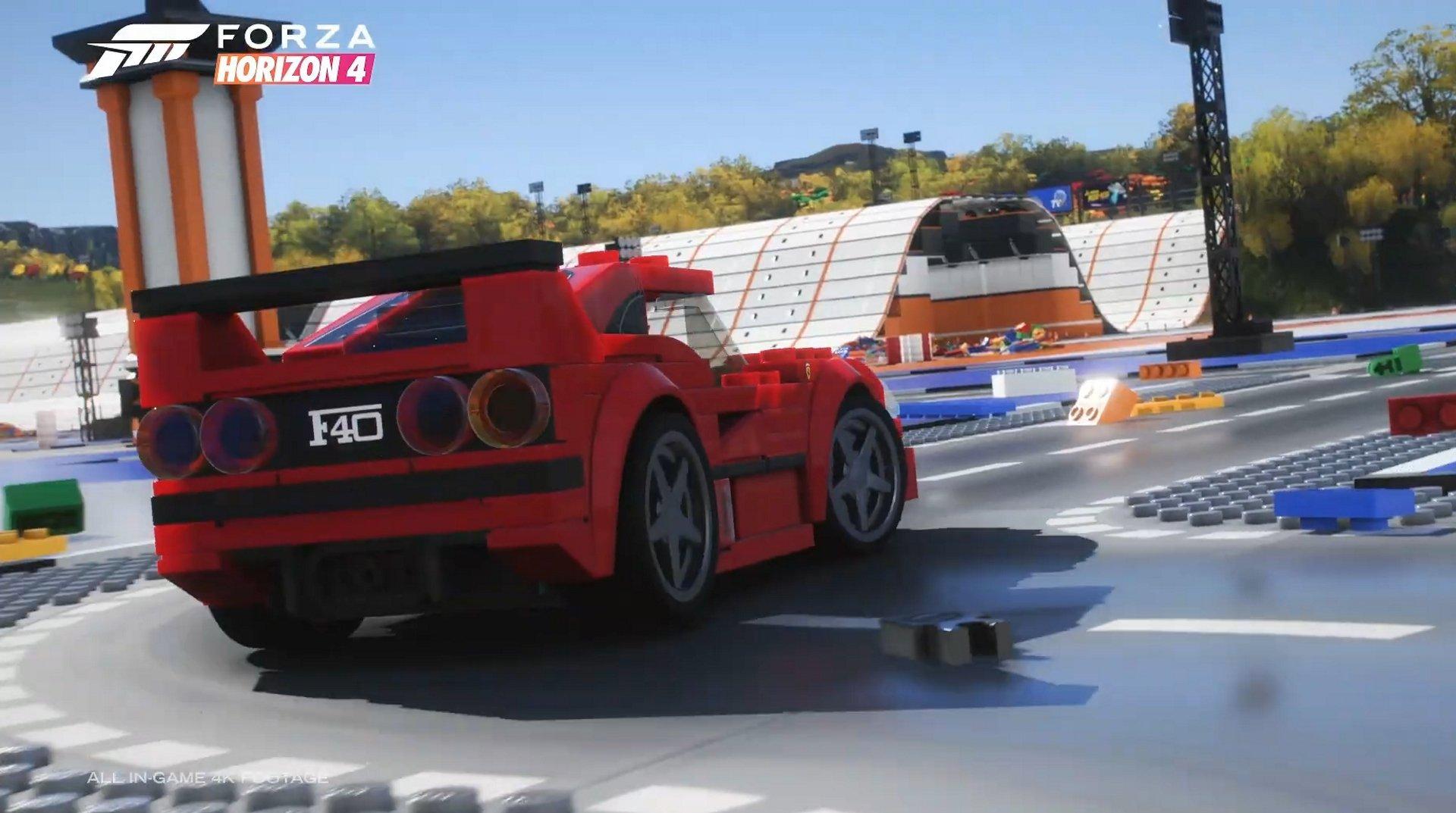 LEGO rejoint Forza Horizon 4 en tant que champion de vitesse