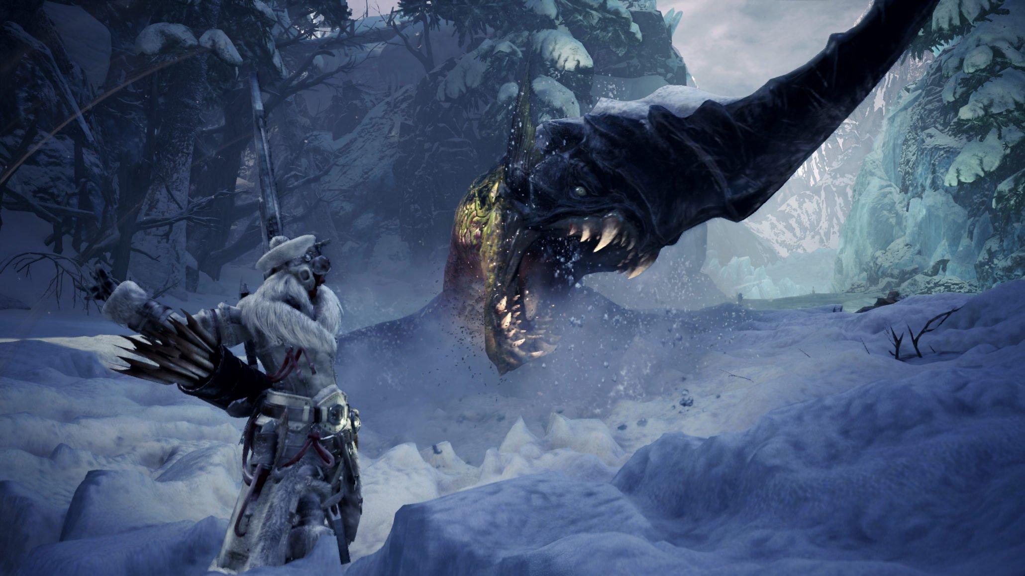Monster Hunter World : Les dates bêta d'origine glaciaire ont été révélées