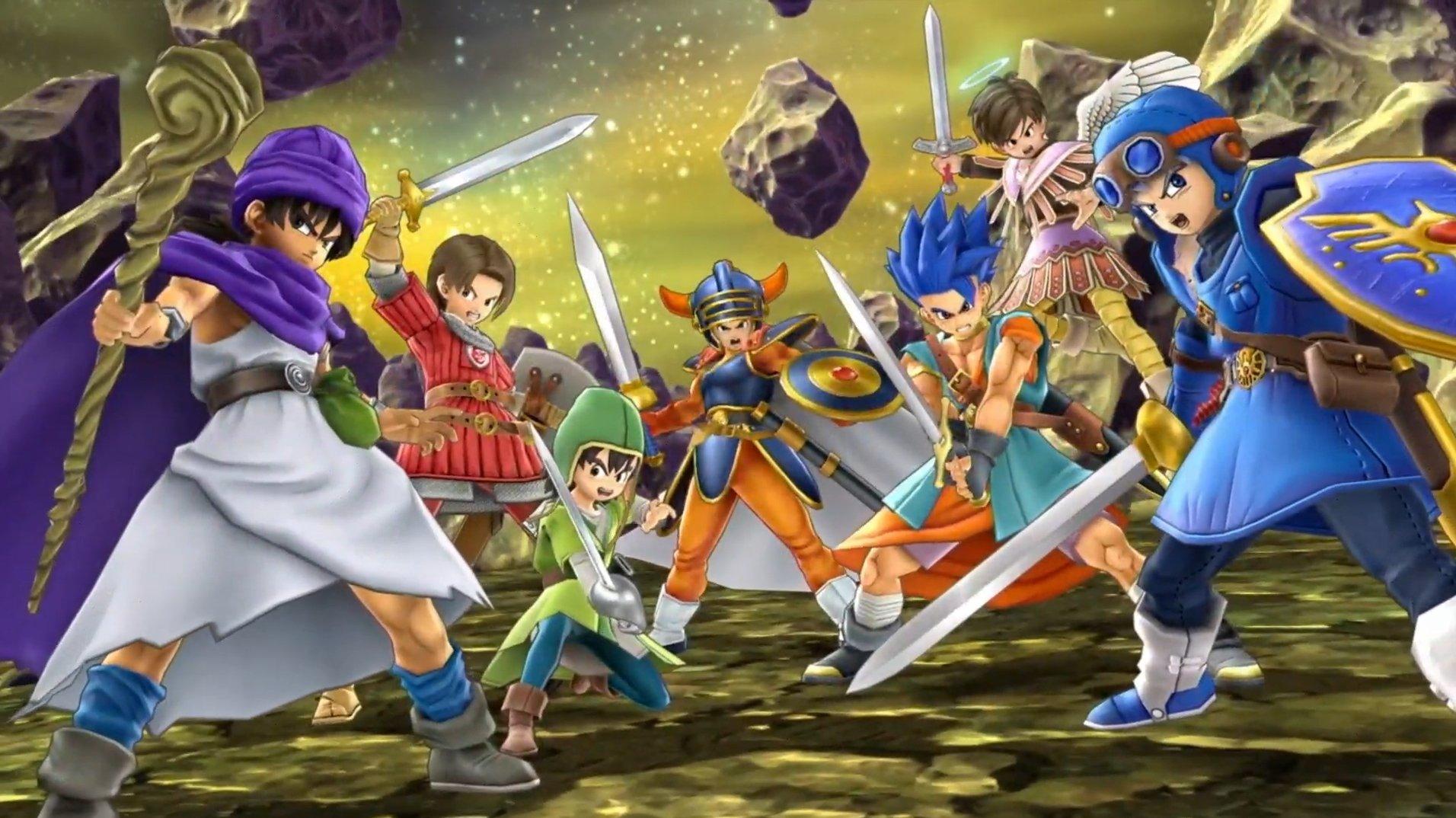 Dragon Quest Hero révélé comme le prochain combattant de Smash Ultimate DLC
