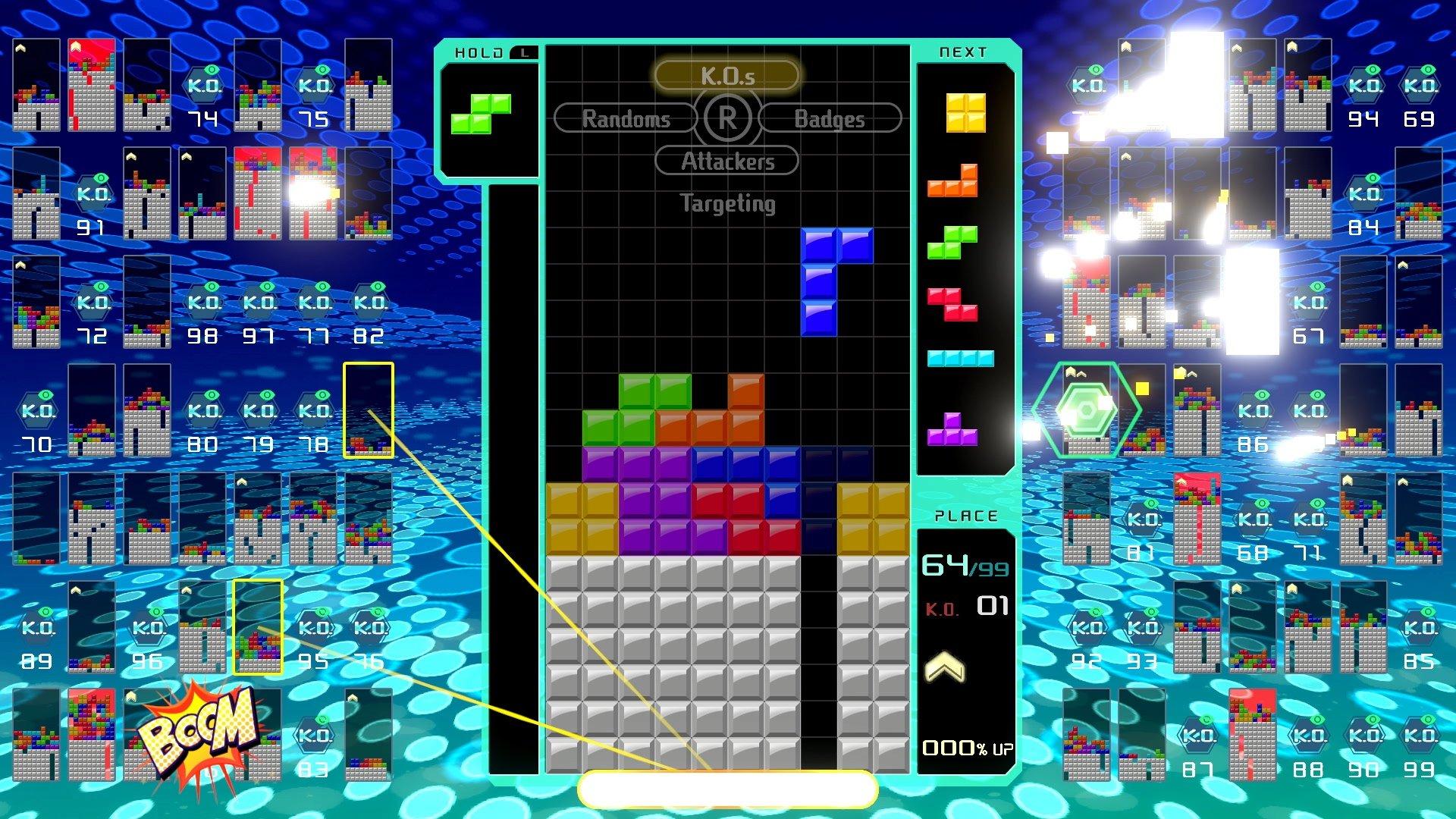 Tetris Royale est une spin-off de Tetris 99 pour mobile
