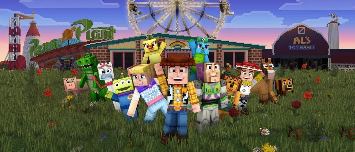 Toy Story Minecraft est maintenant en ligne