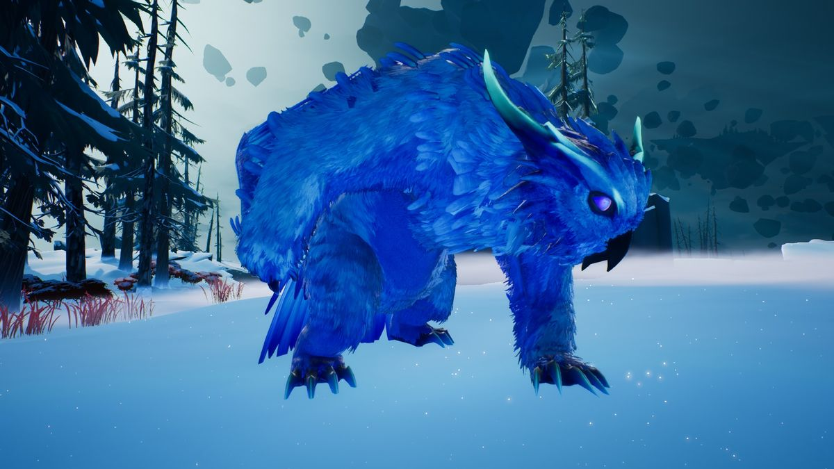 Le Winterhorn Skraev revient à Dauntless avec un plumage frais.