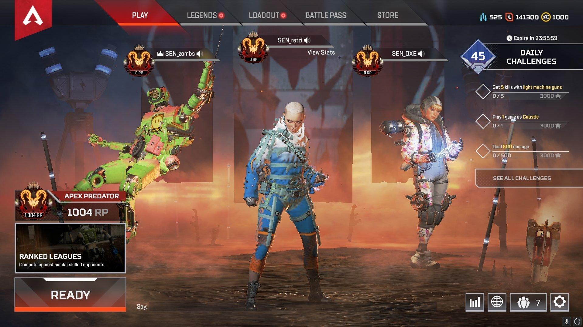 Les joueurs ont déjà atteint le rang Apex Predator en mode Apex Legends Ranked.