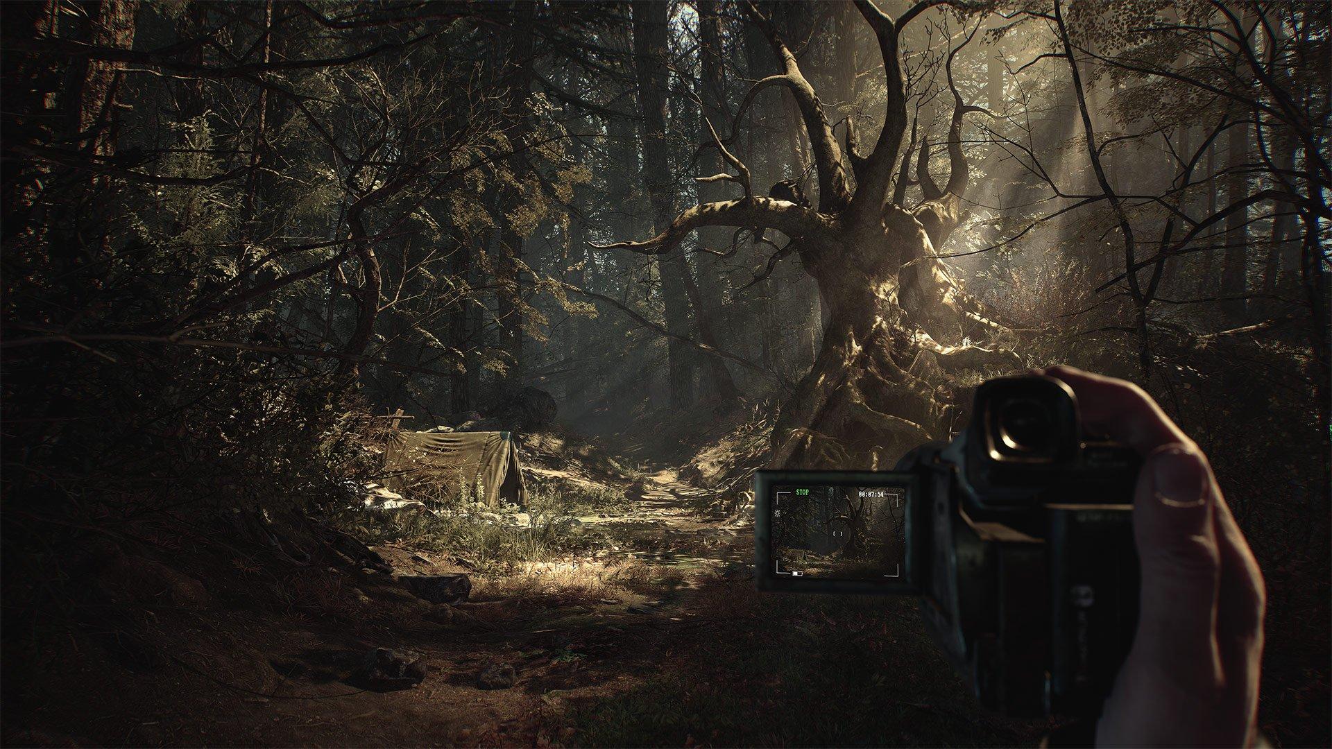 Le nouveau gameplay de Blair Witch ressemble à une Firewatch effrayante.
