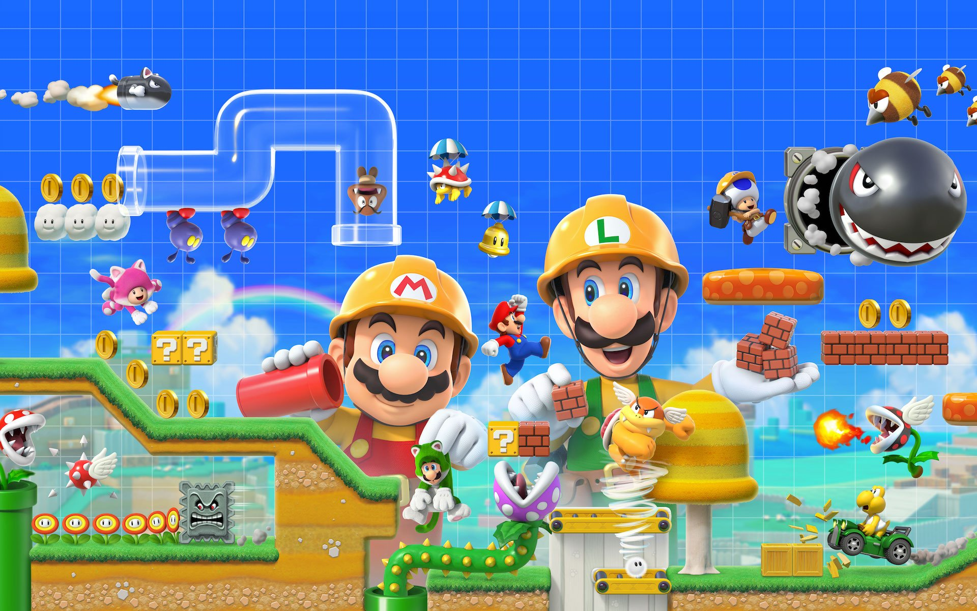 Limite de téléchargement de Super Mario Maker 2 augmentée