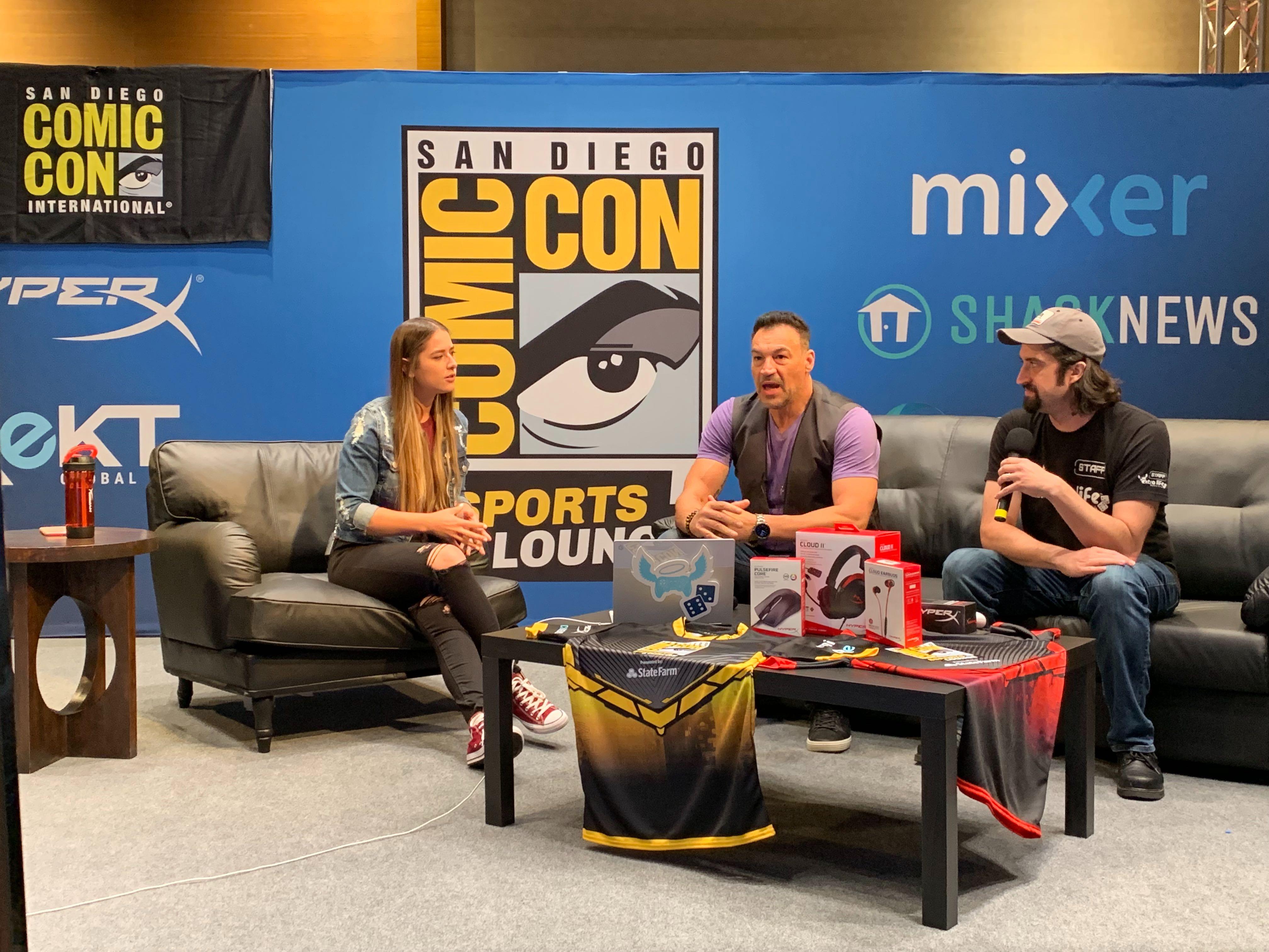 Le livestream du SDCC19 Esports Lounge a rejoint près de 750 000 téléspectateurs et a permis d'amasser 20 000 $ au profit d'organismes de bienfaisance.