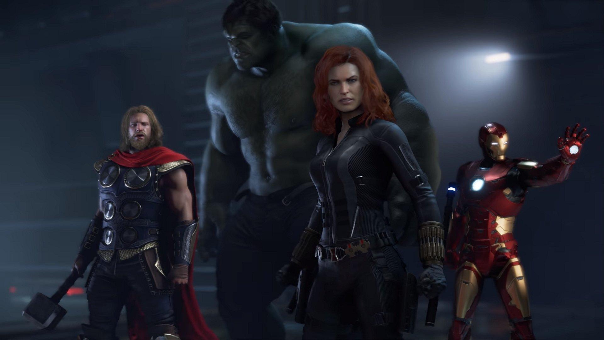 Les images des Avengers de Marvel montrent Thor en action