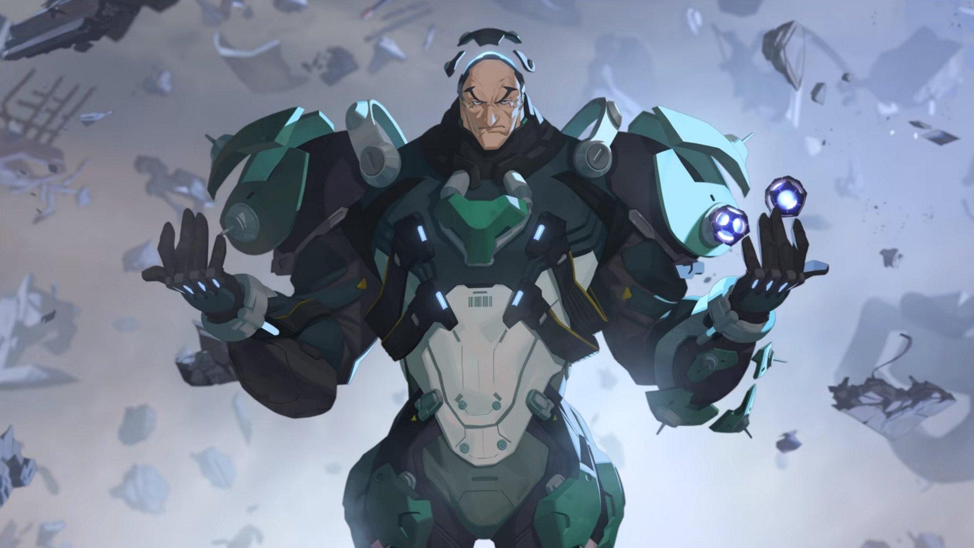 Overwatch Hero #31 est Sigma, une astrophysicienne excentrique.