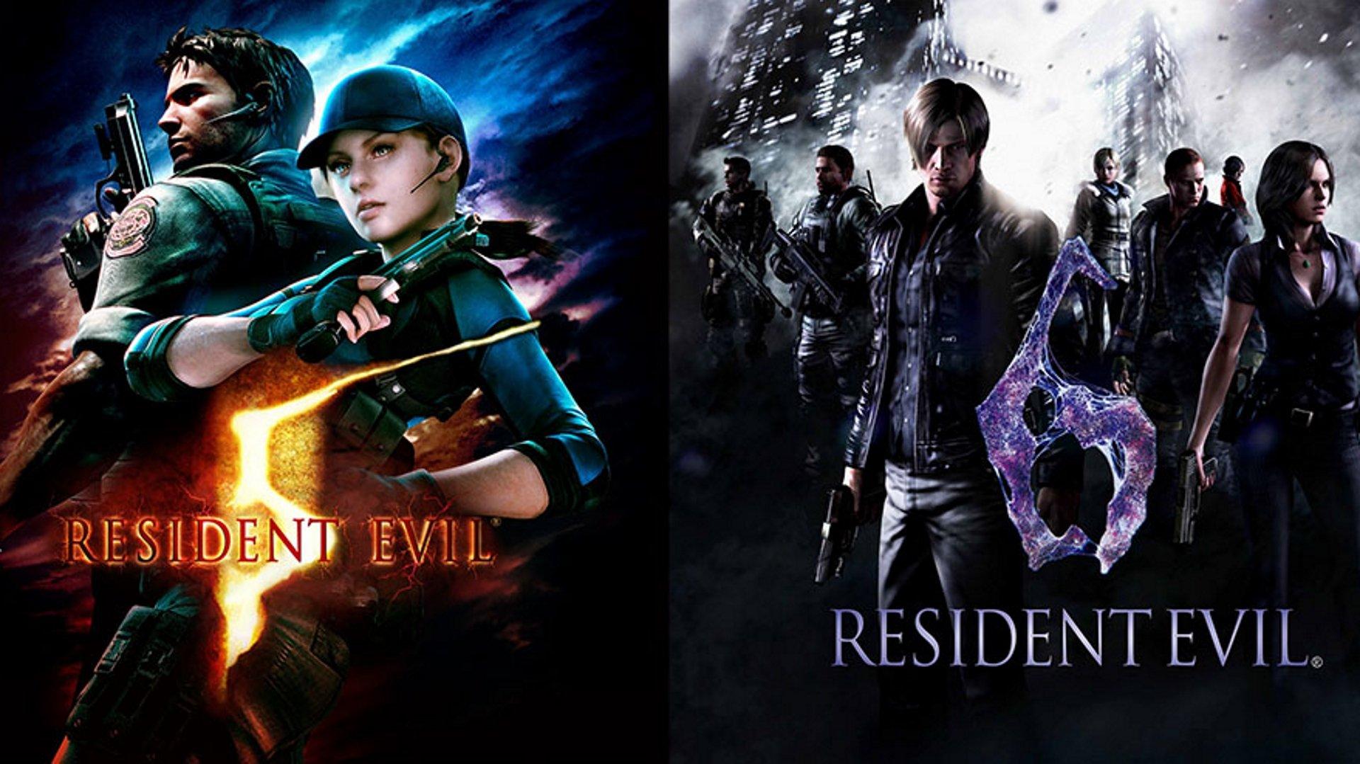 Resident Evil 5 et 6 sortie le 29 octobre sur Switch