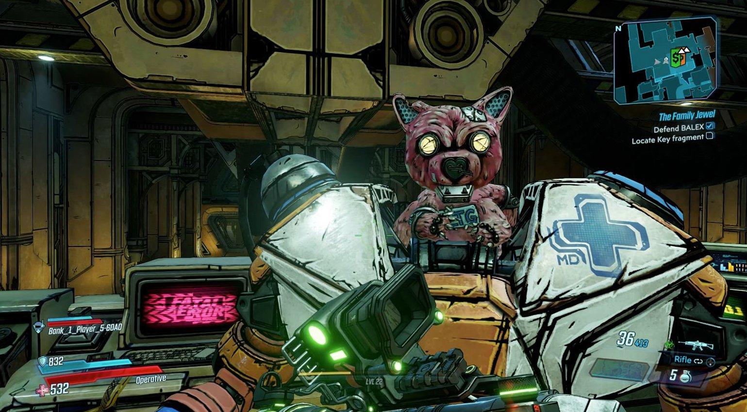 Ice-T est dans Borderlands 3 comme un robot ours en peluche (terrifiant)
