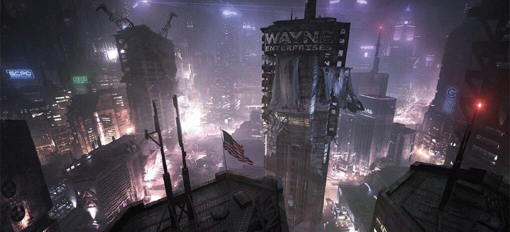 L'art conceptuel émerge du jeu annulé de Damian Wayne Batman Project Sabbath