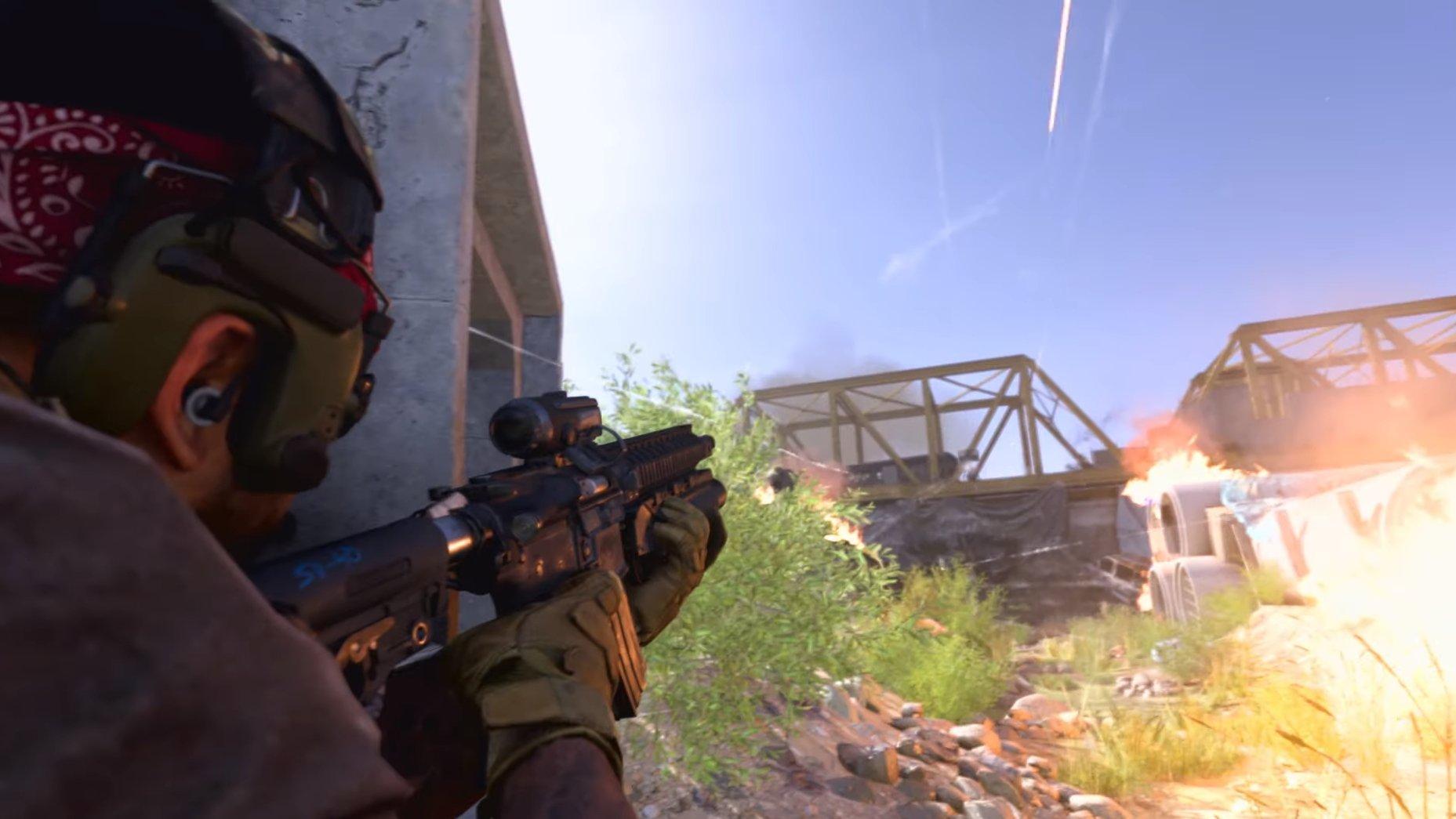 Call of Duty : Modern Warfare allait permettre aux joueurs de grimper les uns sur les autres.