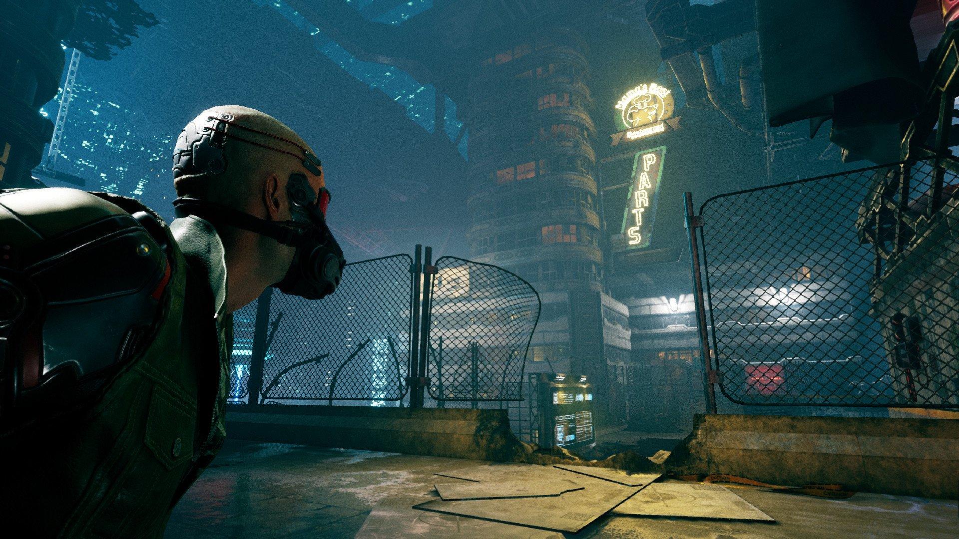 Ghostrunner est un jeu de parkour d'un seul coup dans le cyberpunk futur.