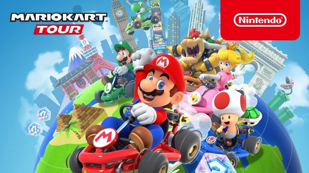 Mario Kart Tour lance le 25 septembre, préinscrivez-vous dès maintenant !