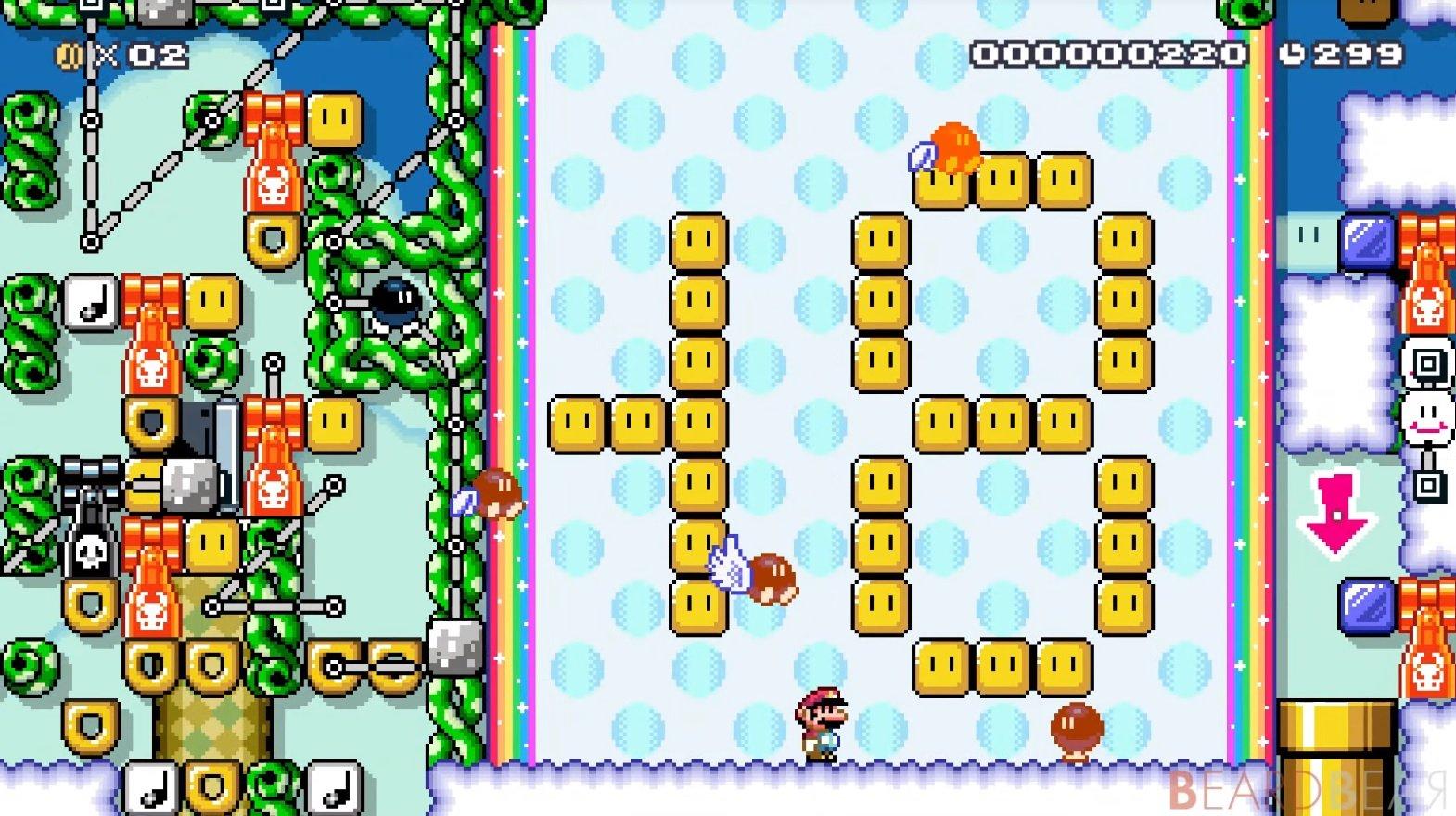 Cette calculatrice fonctionnelle dans Mario Maker 2 est absurde.