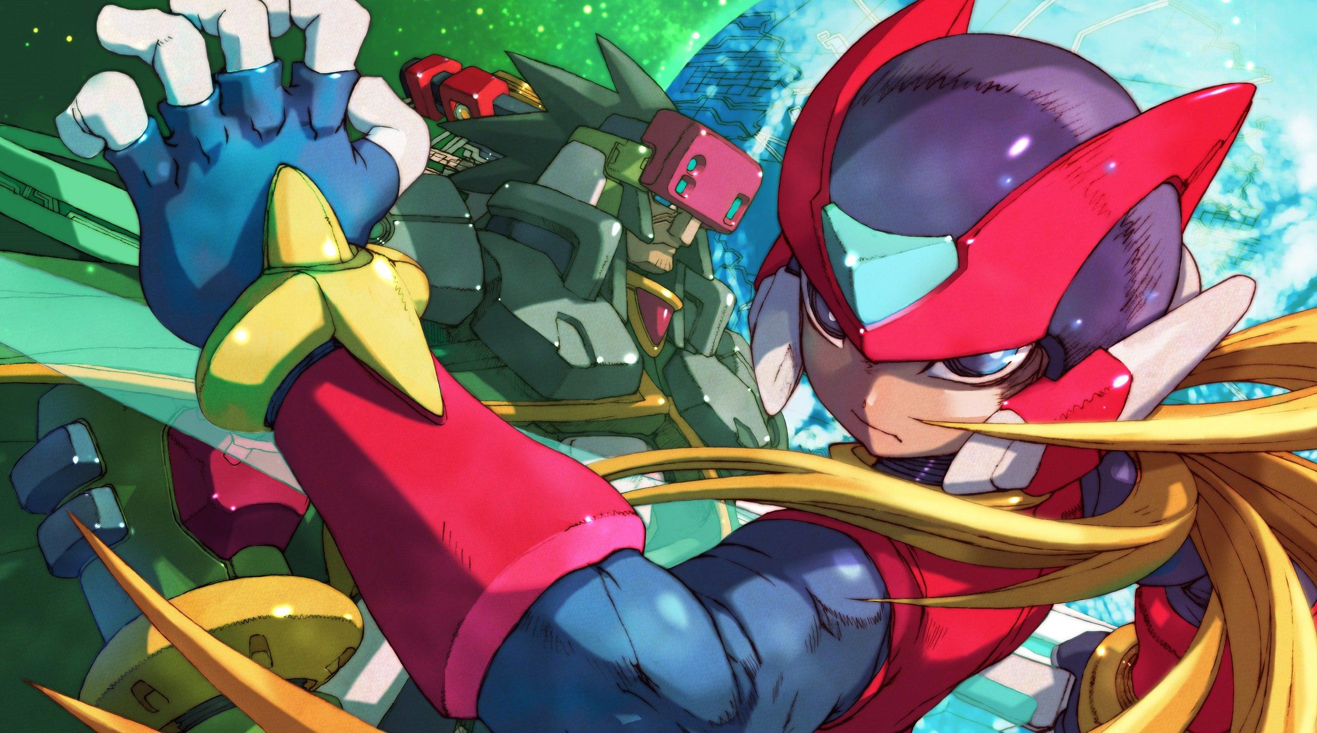 Capcom dévoile Mega Man Zero/ZX Legacy Collection