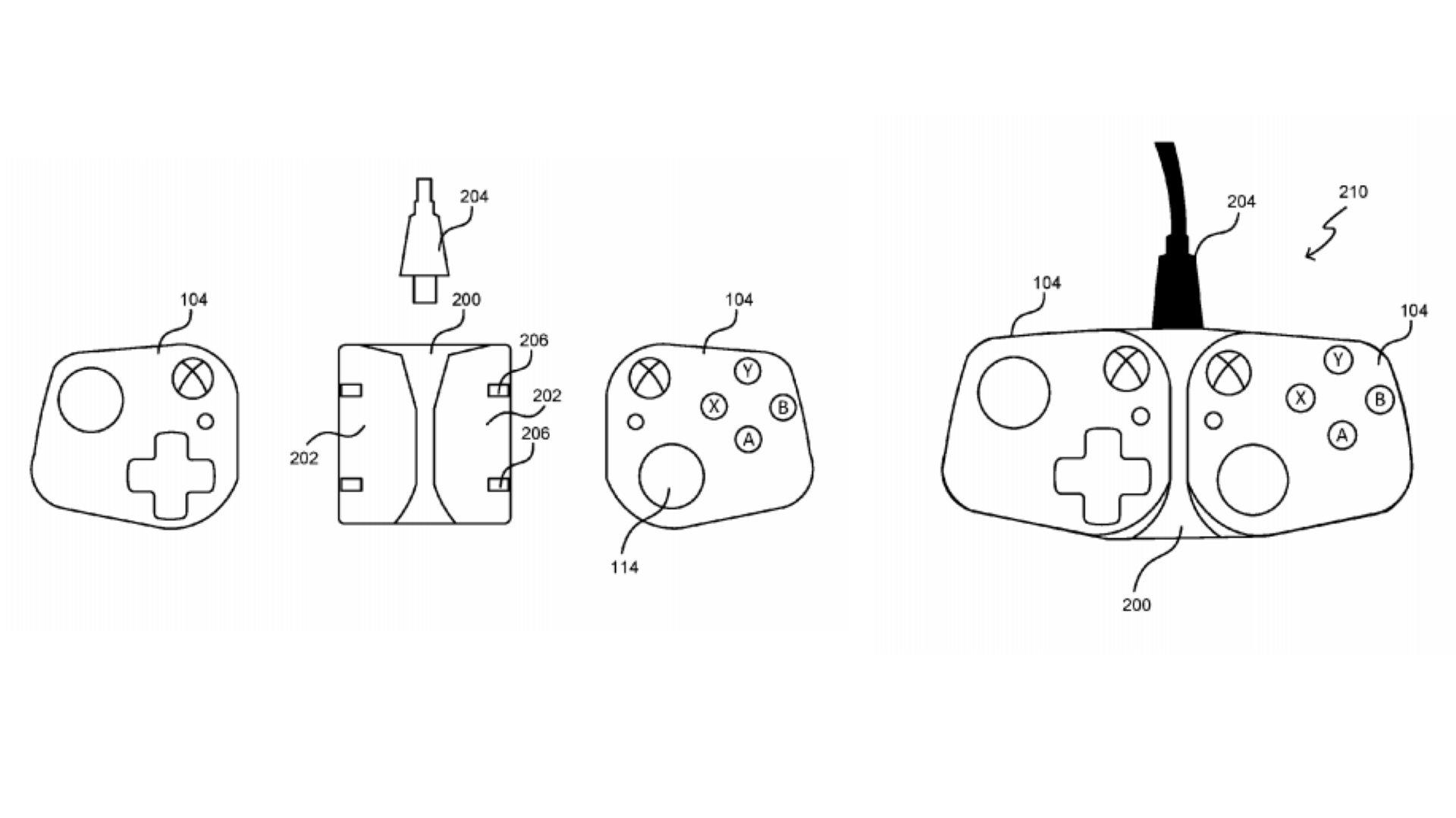 Indices de brevets Microsoft sur les contrôleurs Xbox pour mobiles