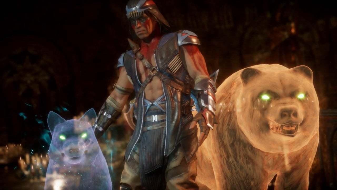 Ce jeu Mortal Kombat 11 Nightwolf, c'est lui, chef.