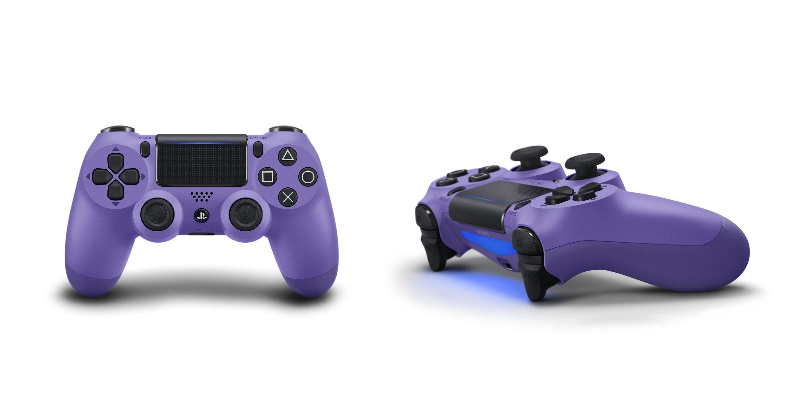 Sony dévoile sa nouvelle gamme de contrôleurs DualShock 4