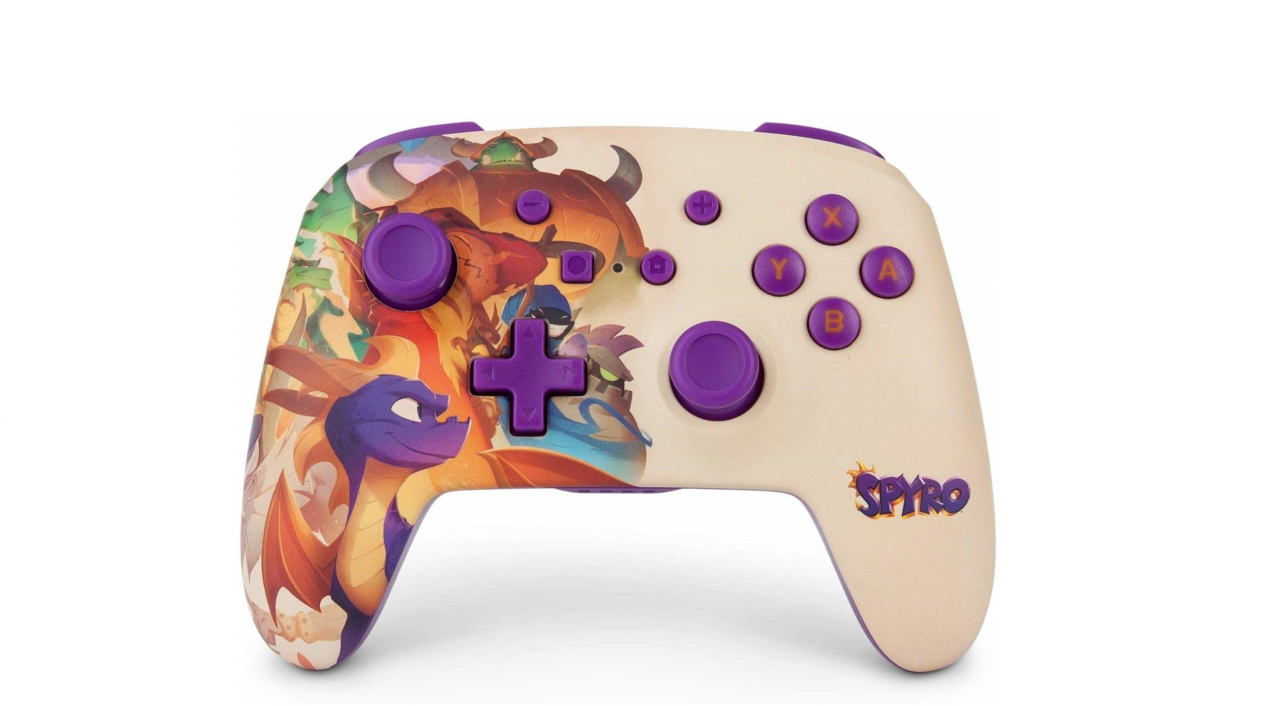 Vous pouvez maintenant acheter une manette Spyro pour Nintendo Switch