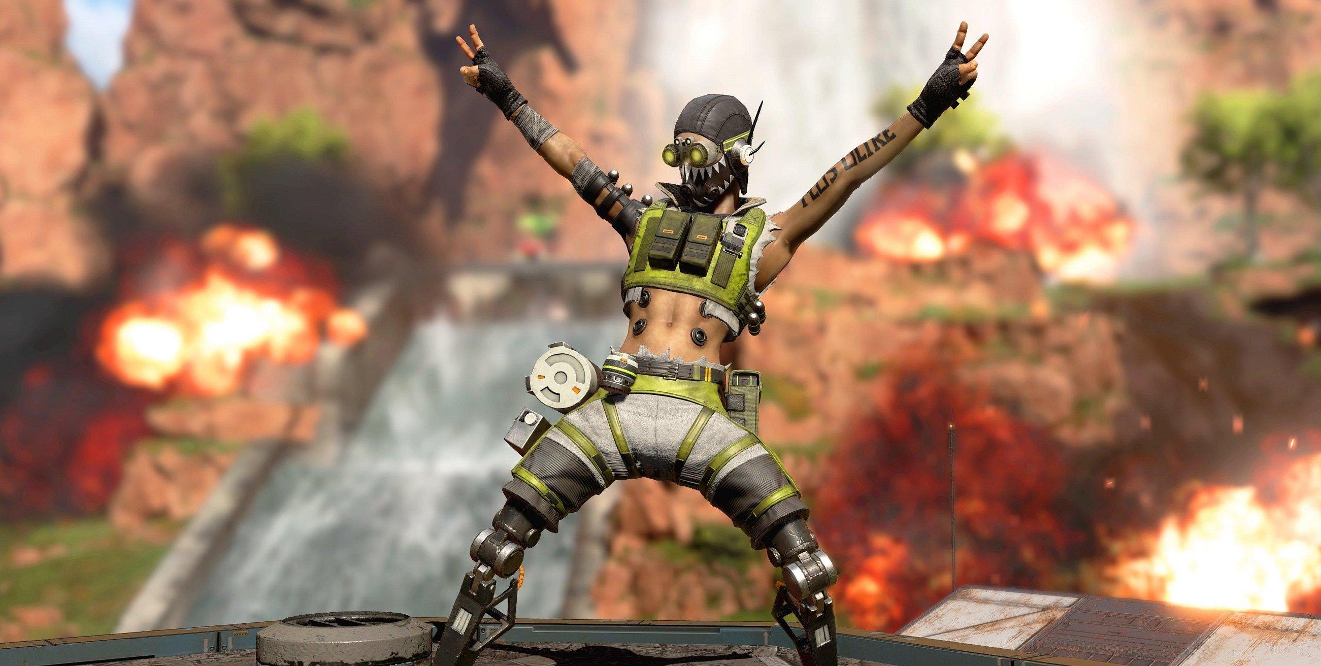 Nouvelle peau Octane pour Apex Legends disponible via Twitch Prime