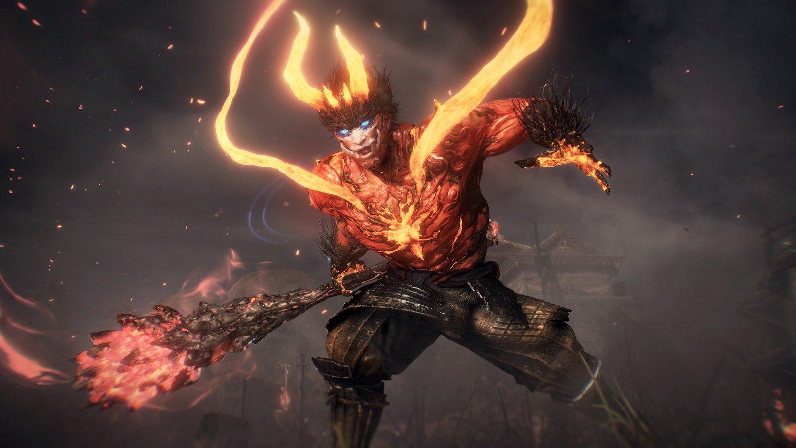 Les nouveaux écrans de Nioh 2 révèlent des transformations bestiales