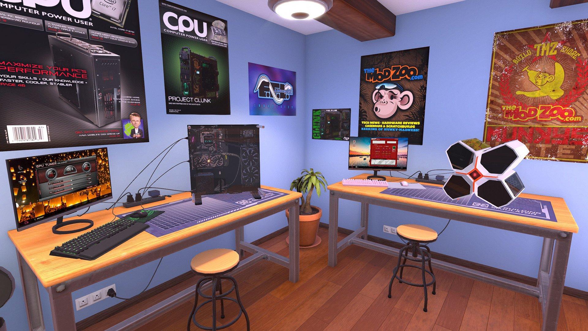 PC Building Simulator disponible sur console