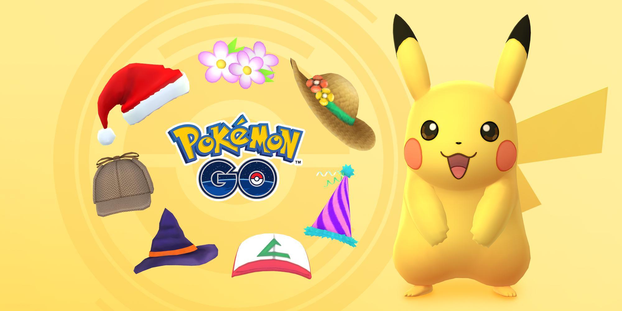 Pokemon GO événement Pokemon GO ramène Ash hat Pikachu