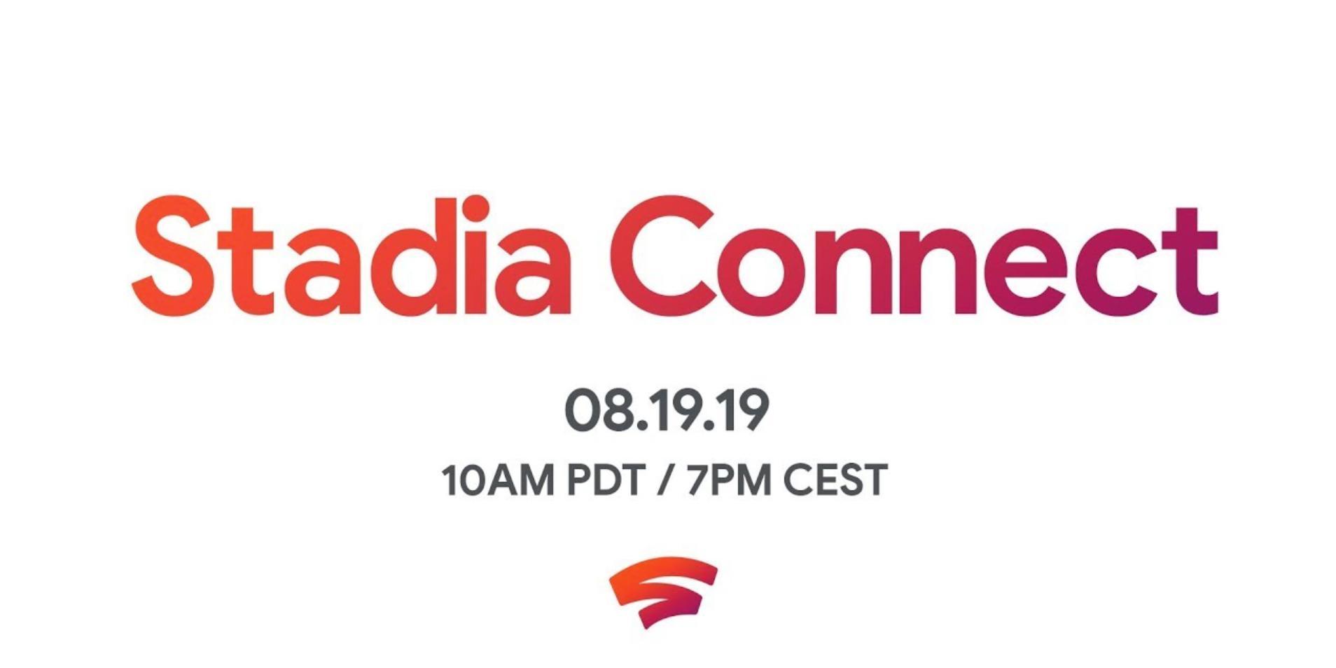 Le flux Stadia Connect dévoilera de tout nouveaux titres avant Gamescom
