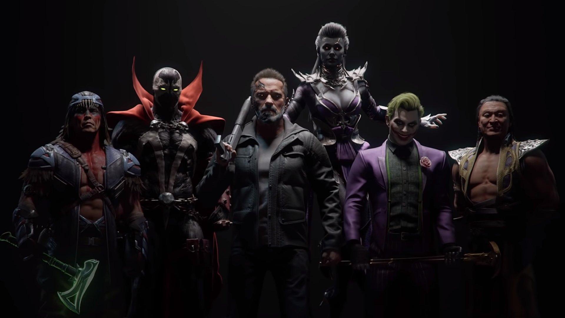 Terminator et Joker rejoignent Mortal Kombat 11 dans Kombat Pack 1